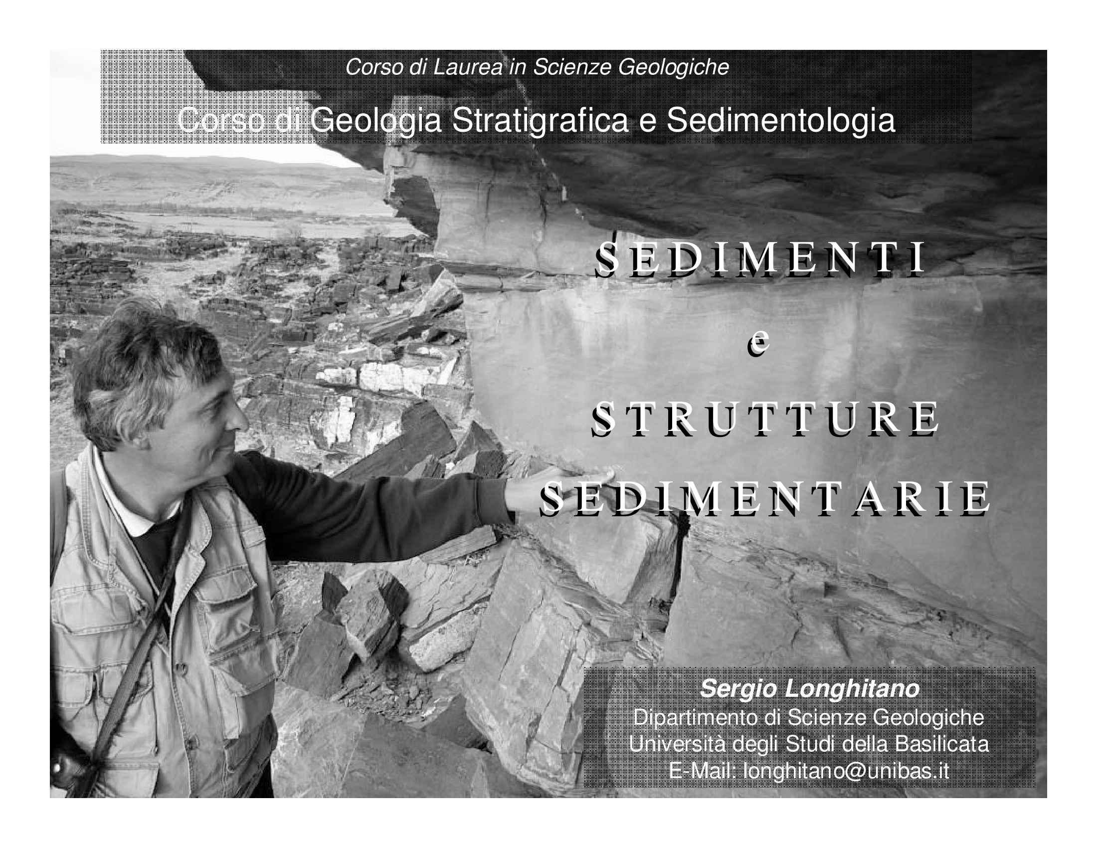 Introduzione alla sedimentologia