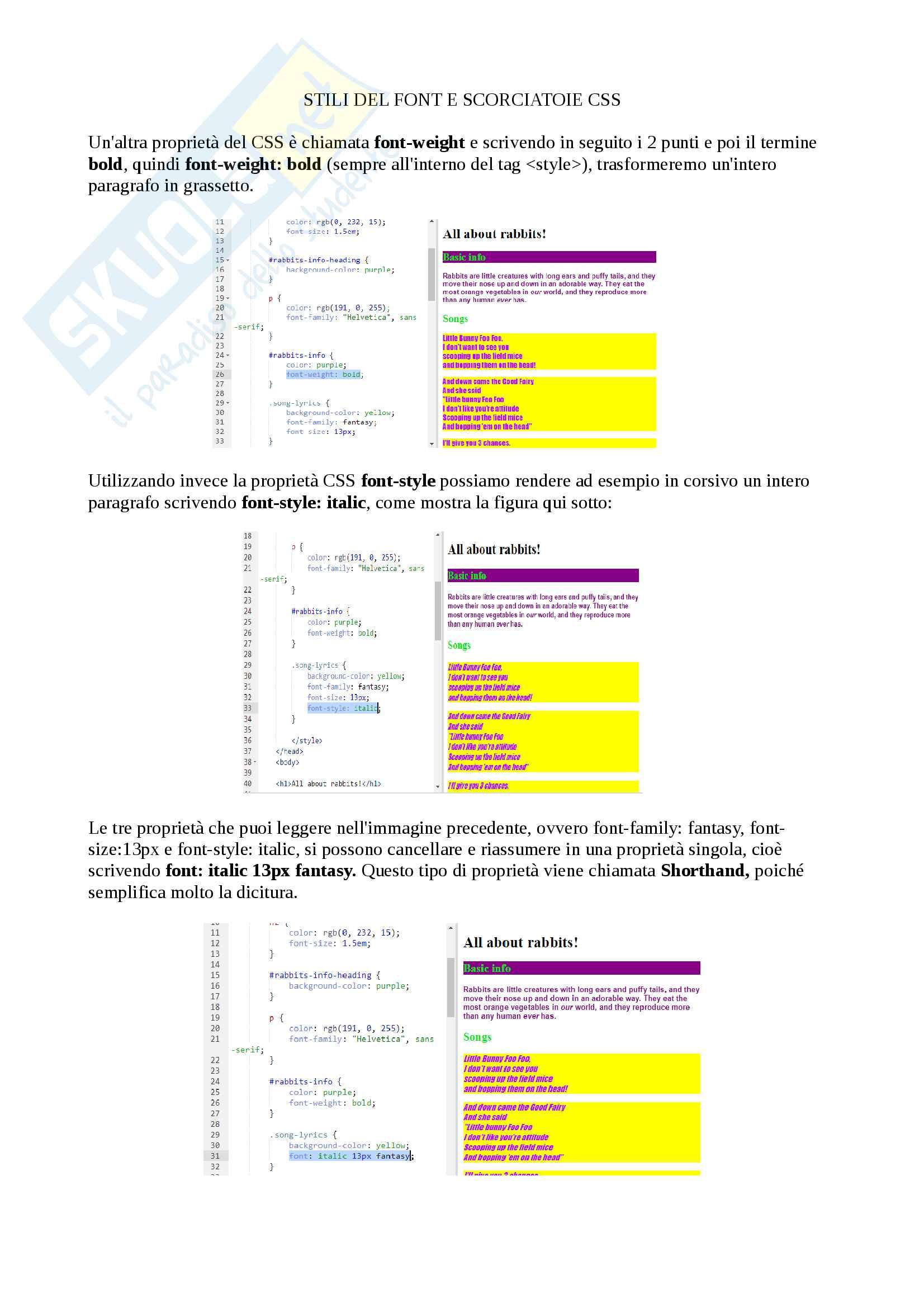 Appunti per l'esame di Idoneità di informatica (moduli 1 e 2) basati sul corso interattivo di Khan Academy dei docenti Cosmo Luca e Gasparetto Andrea Pag. 11