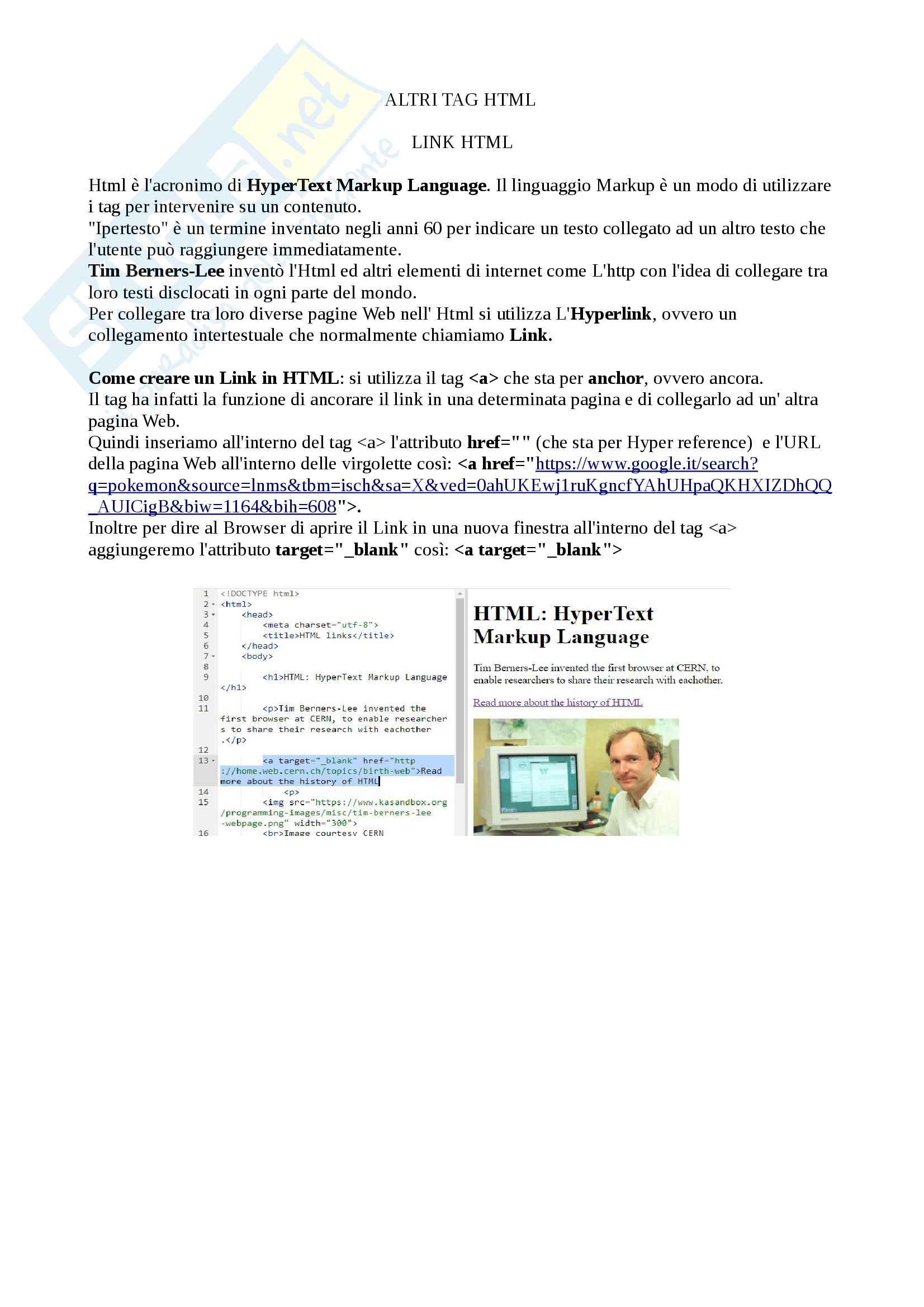 Appunti per l'esame di Idoneità di informatica (moduli 1 e 2) basati sul corso interattivo di Khan Academy dei docenti Cosmo Luca e Gasparetto Andrea Pag. 6