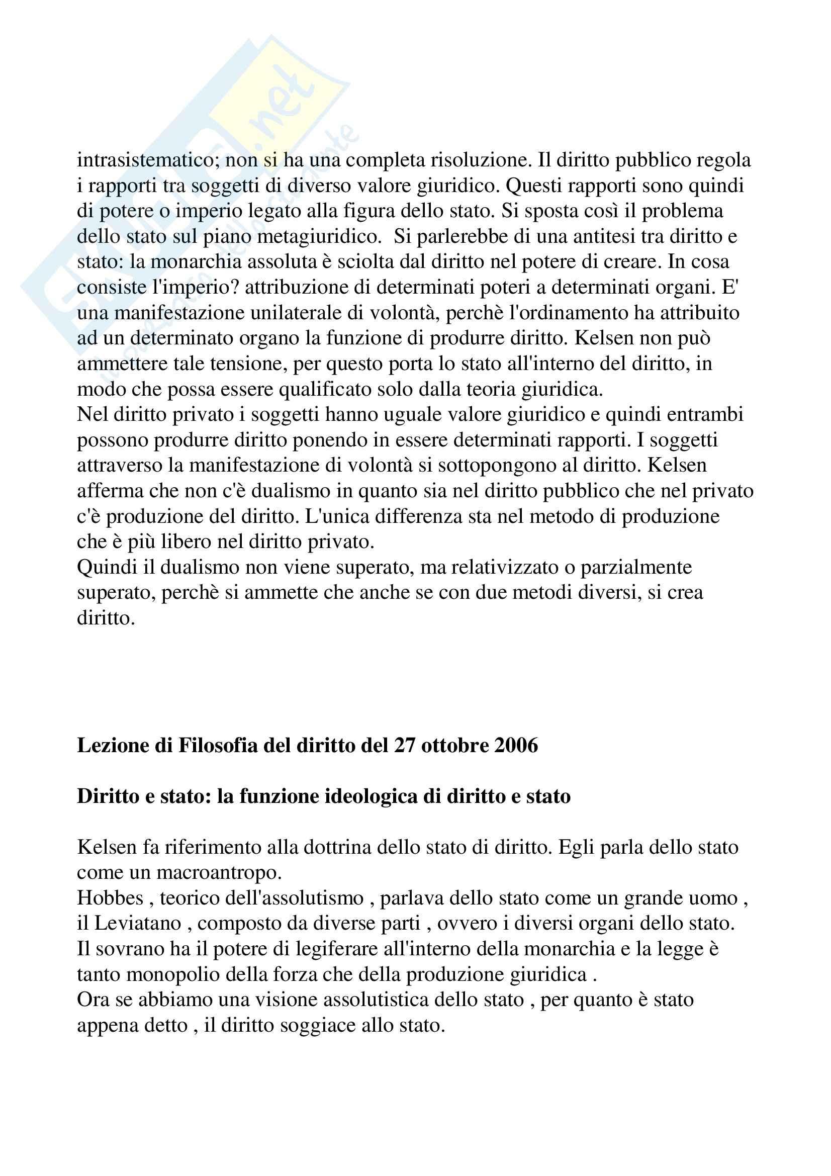 Filosofia del diritto - Kelsen Pag. 31