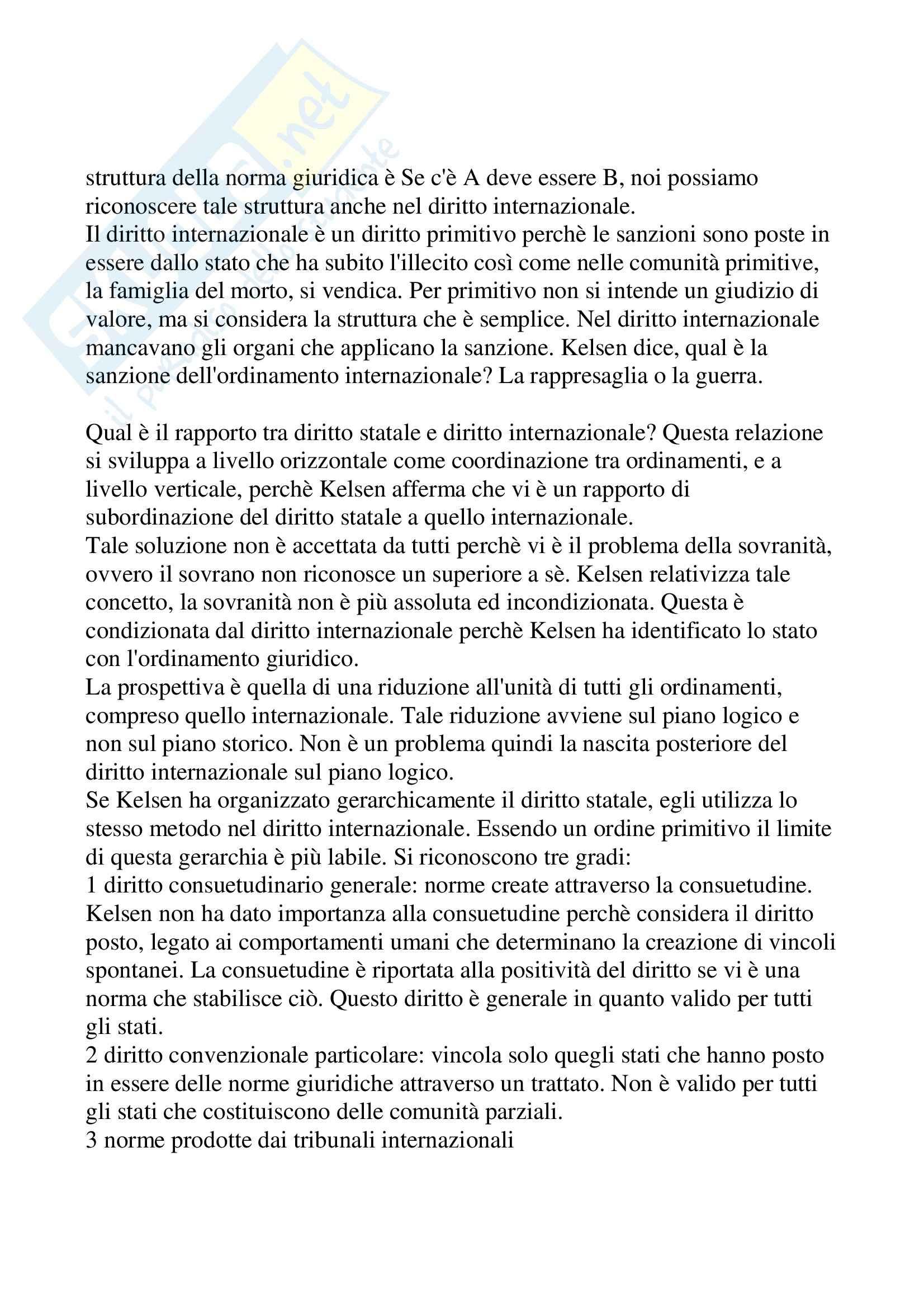 Filosofia del diritto - Kelsen Pag. 36