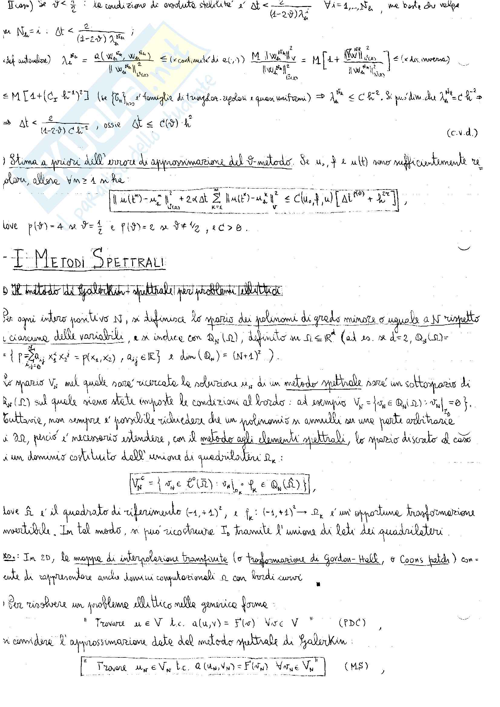 """Appunti di """"Numerical Analysis for Partial Differential Equations"""" Pag. 36"""