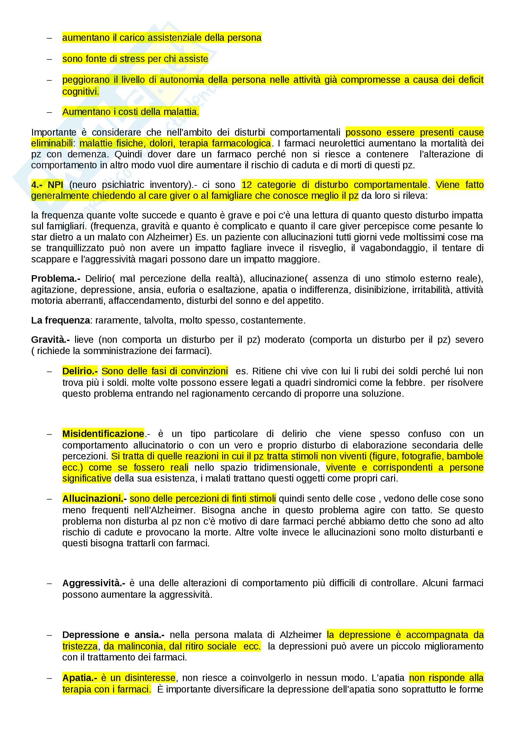 Geriatria - Appunti Pag. 21