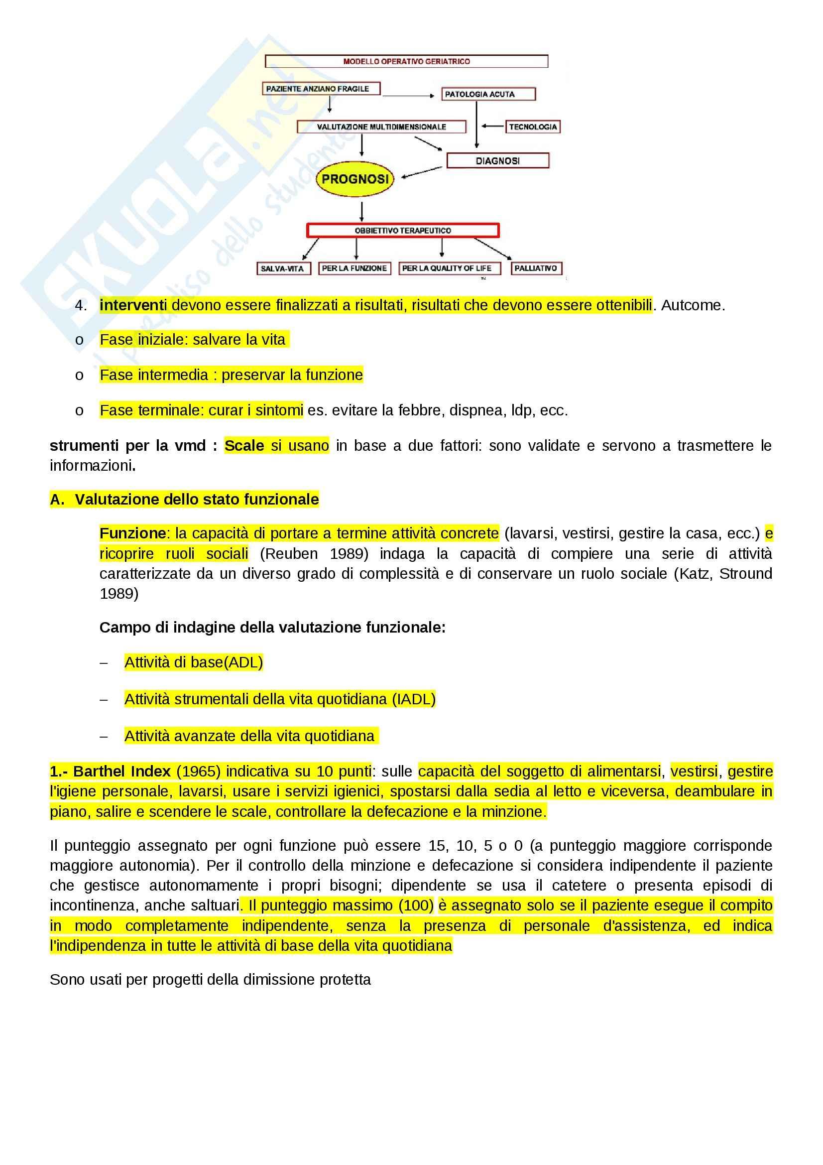 Geriatria - Appunti Pag. 6