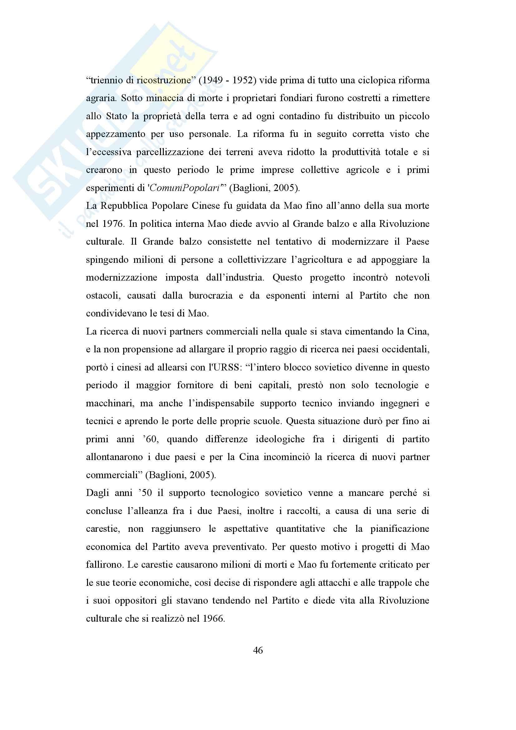 Globalizzazione, sviluppo e disuguaglianza, Economia del lavoro Pag. 46