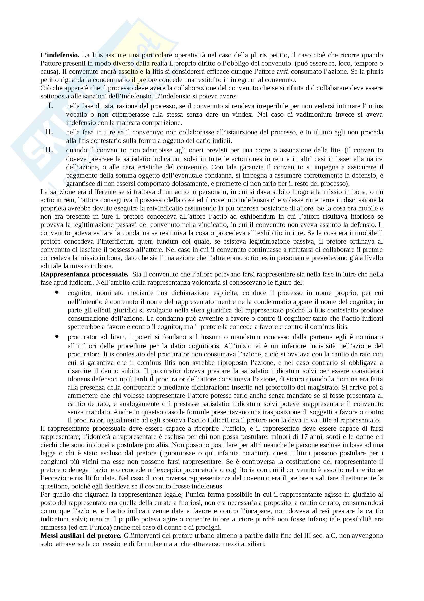 Riassunto esame Istituzioni di diritto romano, prof. Miglietta, libro consigliato Istituzioni di diritto romano, Talamanca Pag. 26