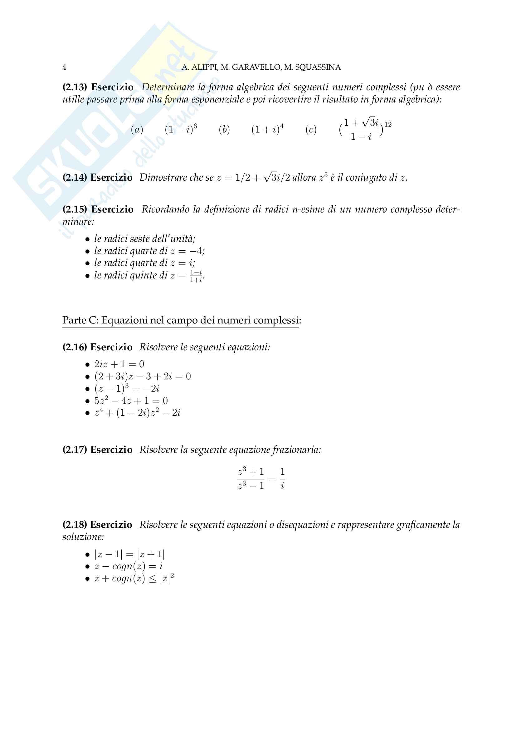Analisi Matematica - Temi d'Esame svolti Pag. 36