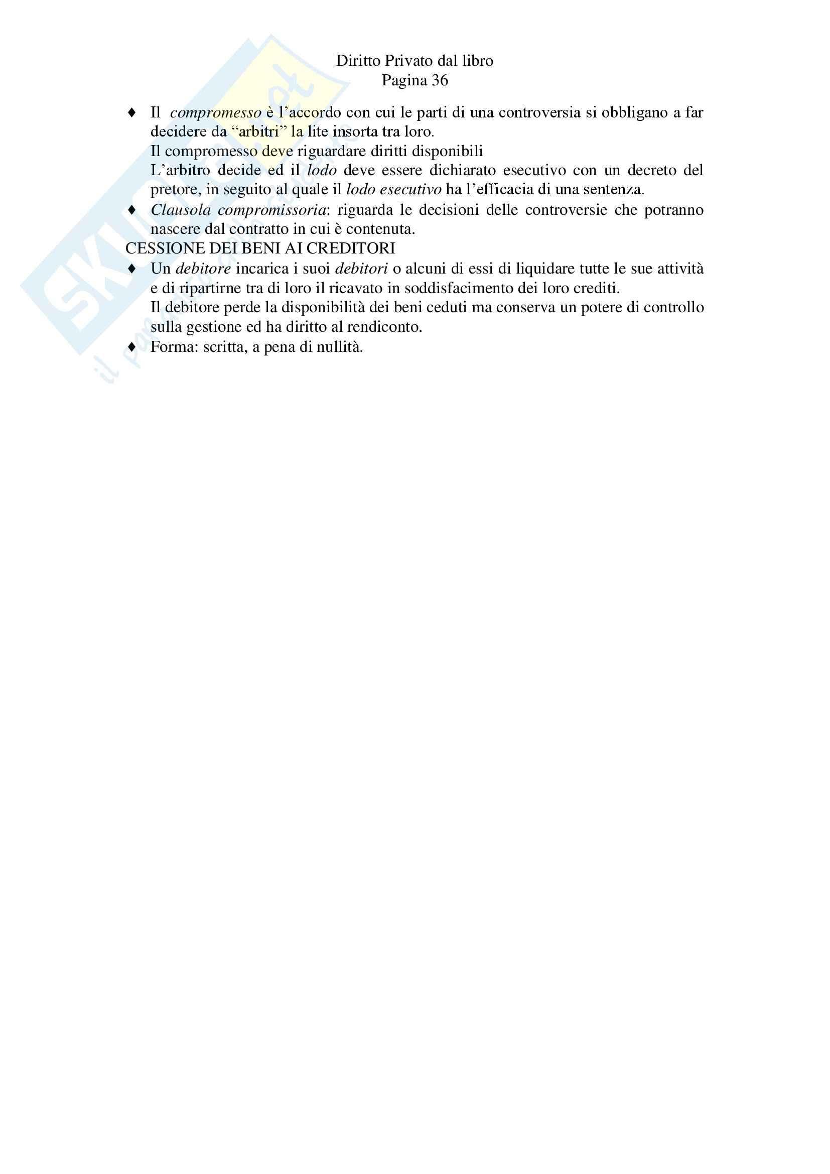 Riassunto esame Diritto Privato, prof. Zanghi, libro consigliato Linguaggio e Regole del Diritto Privato, Iudica, Zatti Pag. 36