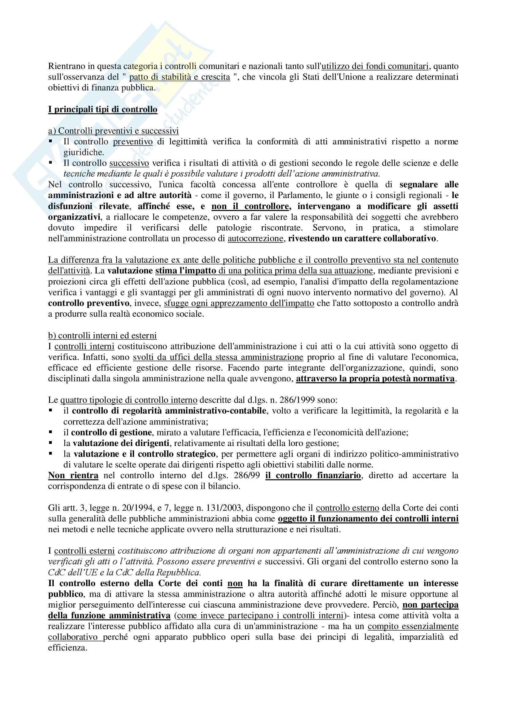 Riassunto esame Diritto Amministrativo, prof. D'Alberti, libro consigliato Istituzioni di Diritto Amministrativo, Cassese Pag. 21