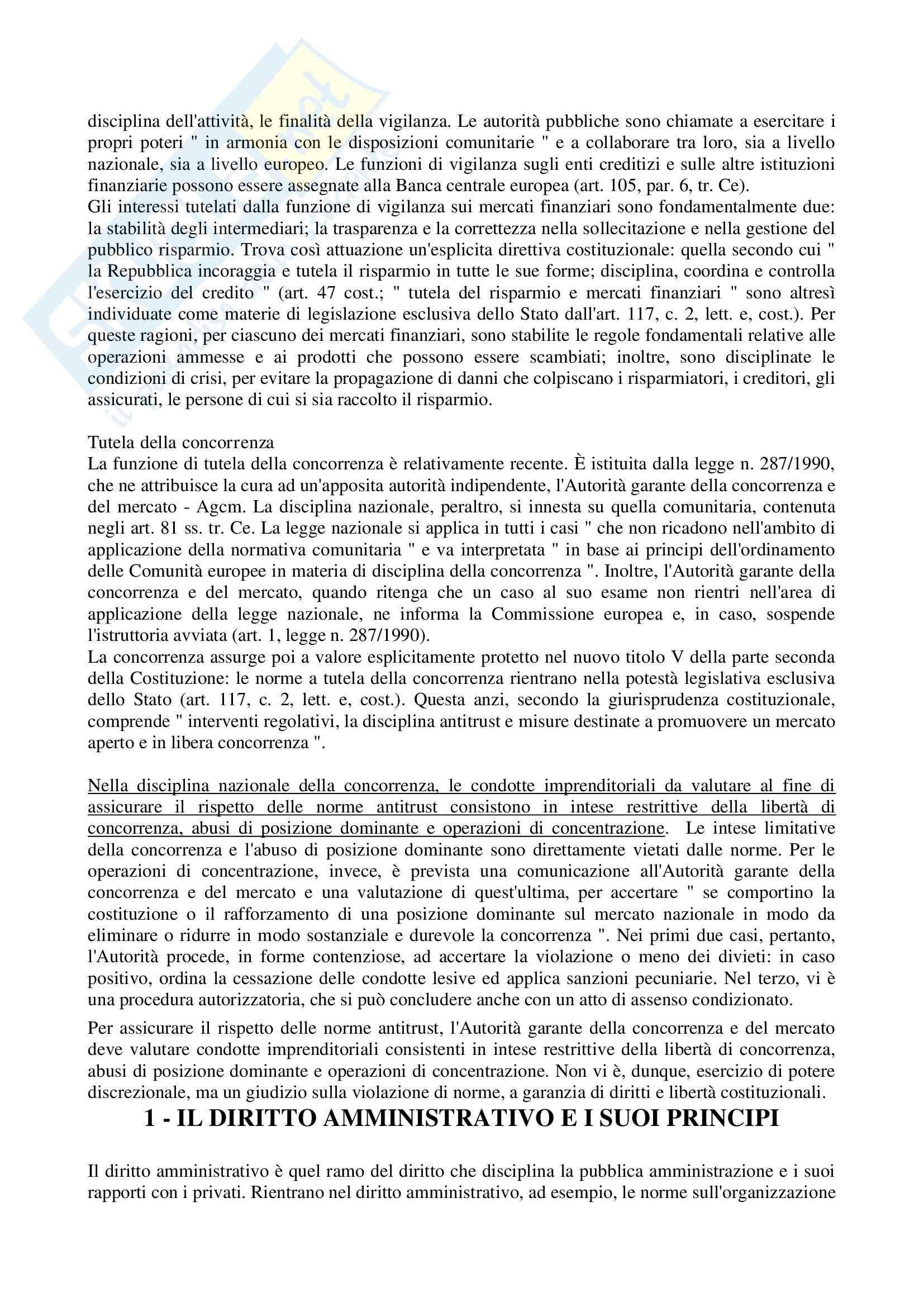 Riassunto esame Diritto Amministrativo, prof. D'Alberti, libro consigliato Istituzioni di Diritto Amministrativo, Cassese Pag. 96