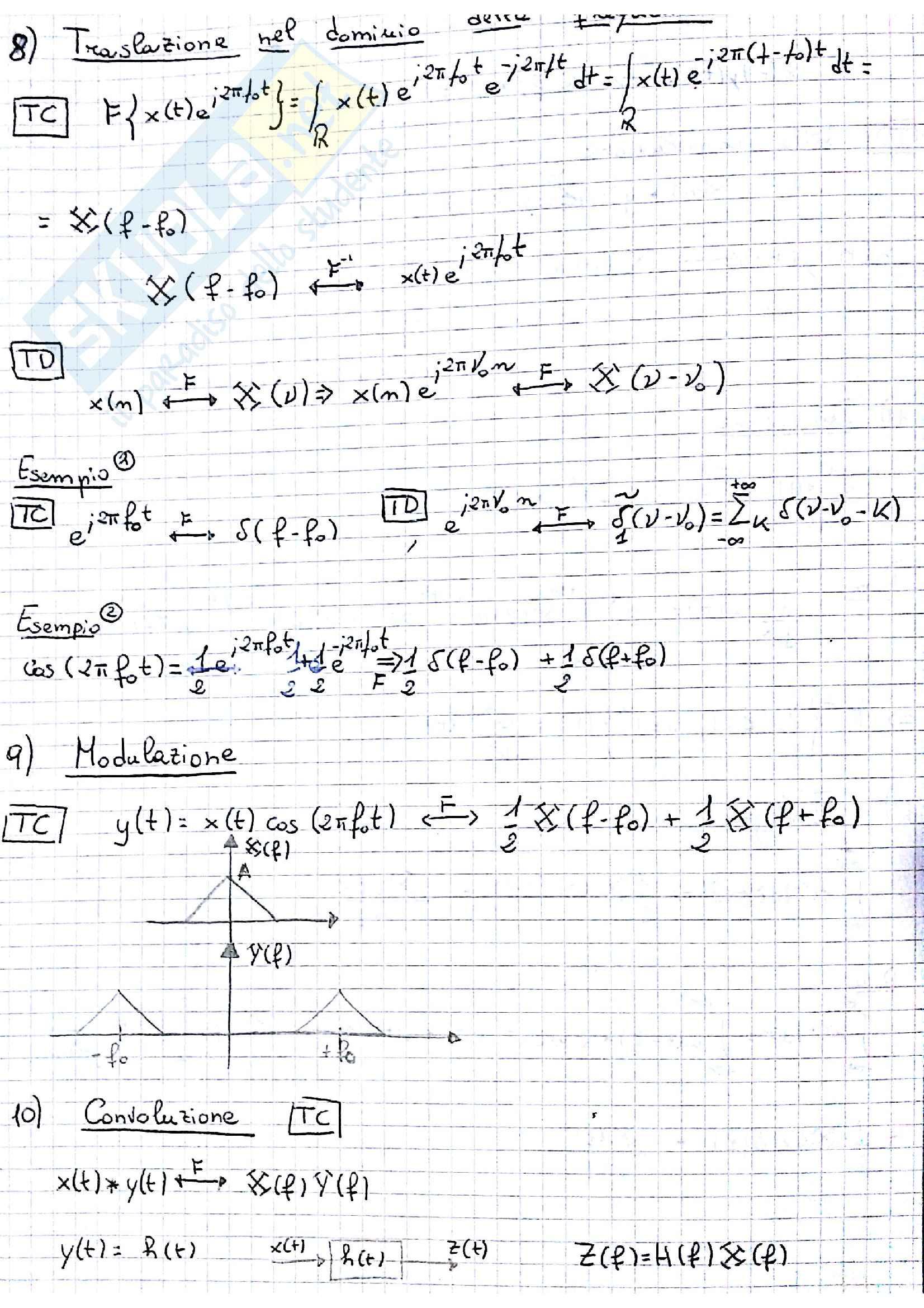 TDS-teoria dei segnali parte II