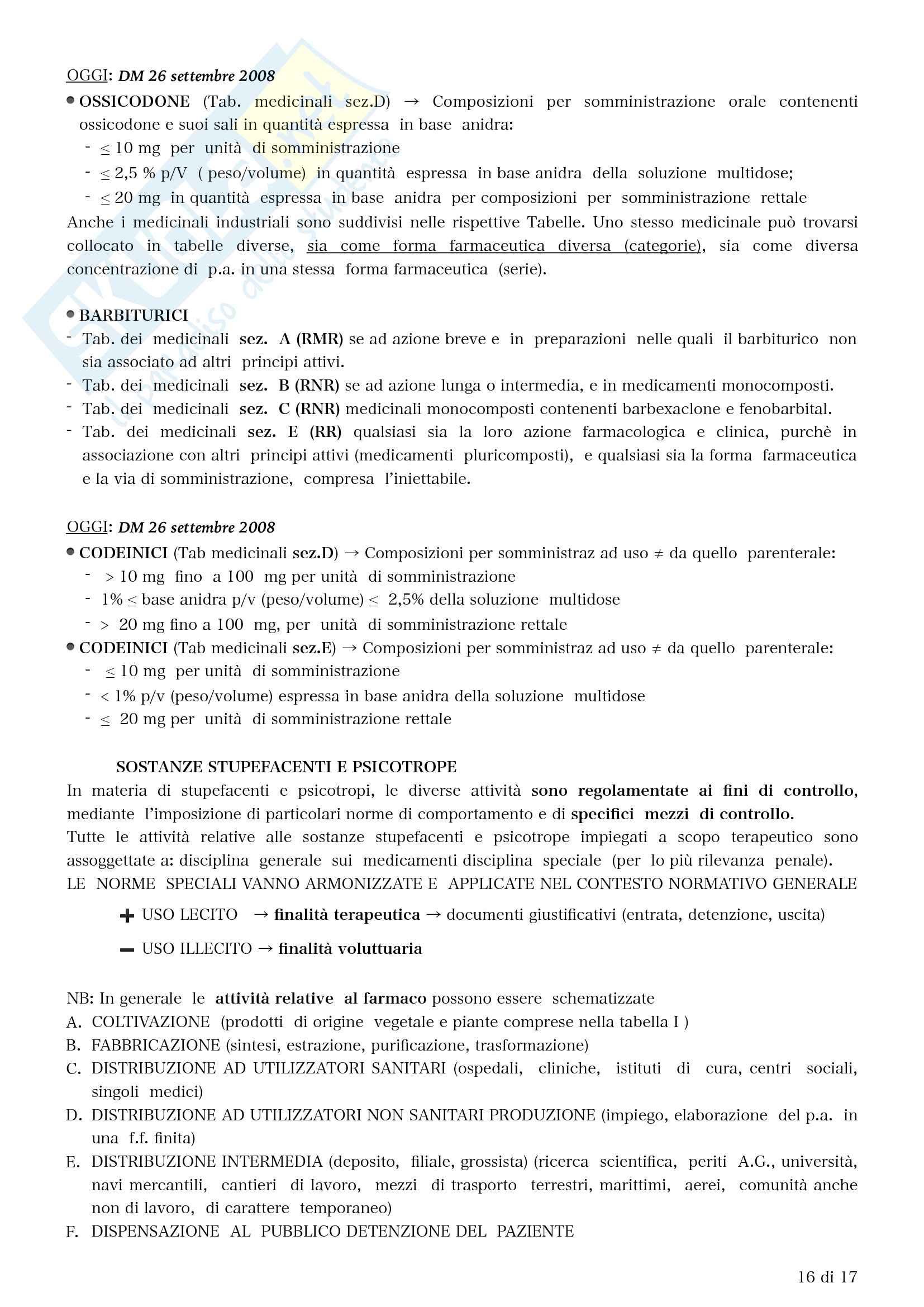 FU e tabelle Pag. 16