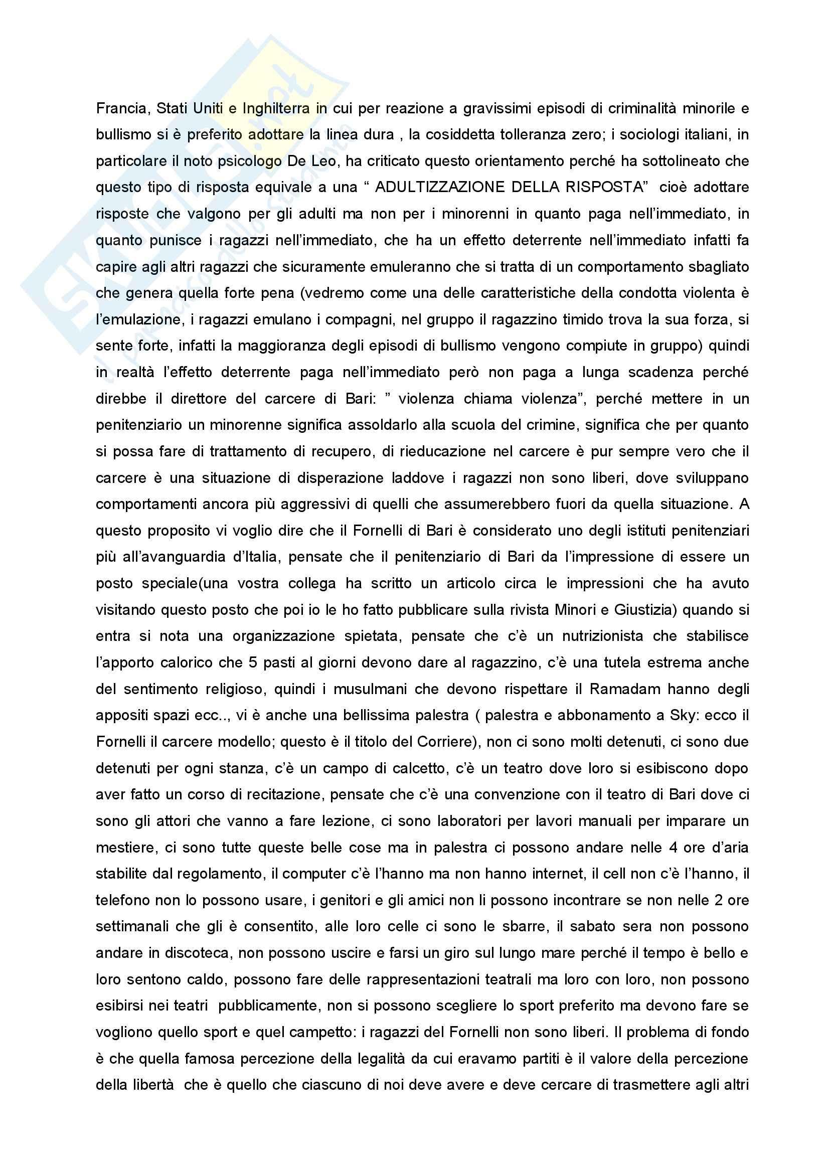 Diritto penale minorile - Corso completo Pag. 11