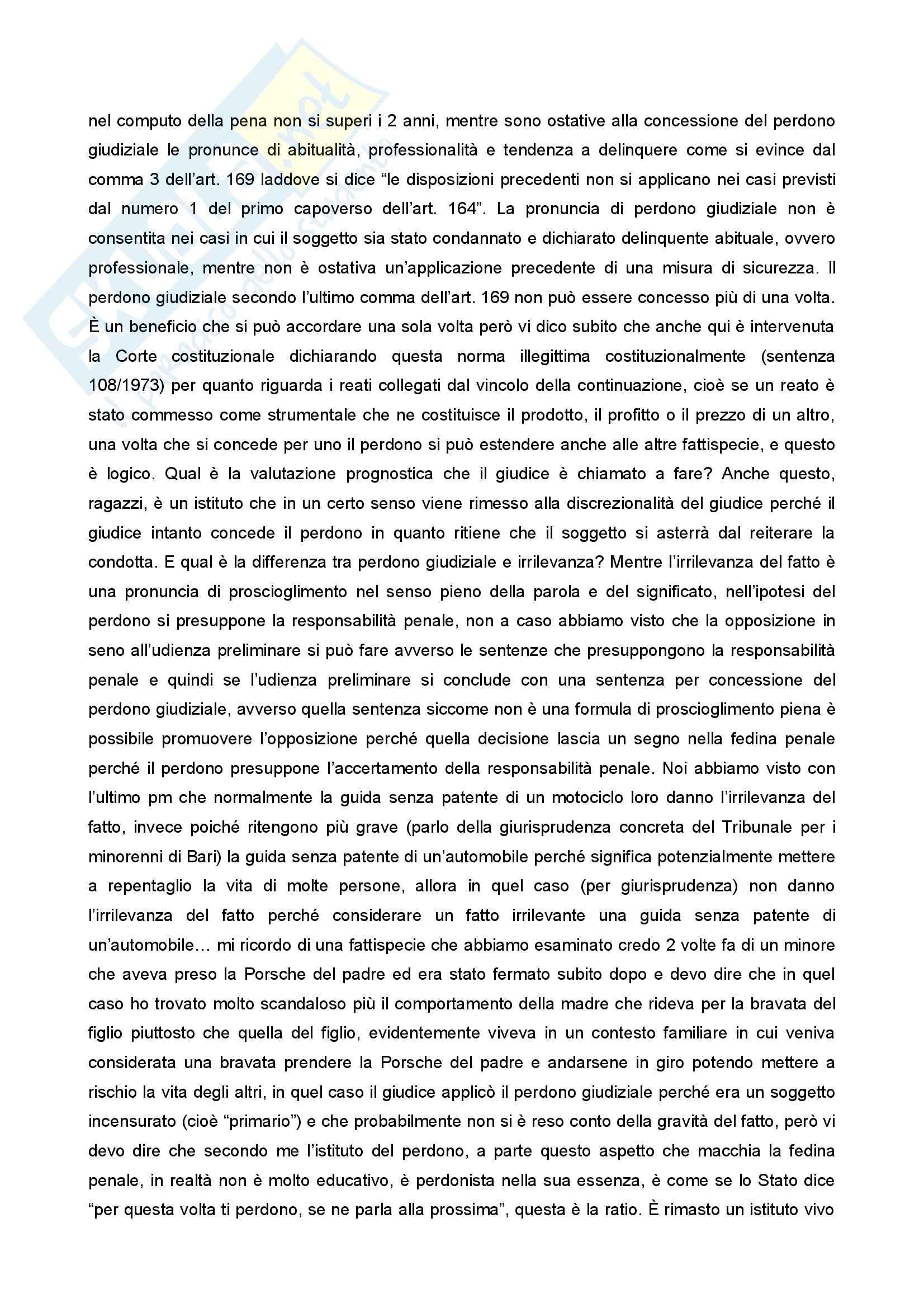 Diritto penale minorile - Corso completo Pag. 141