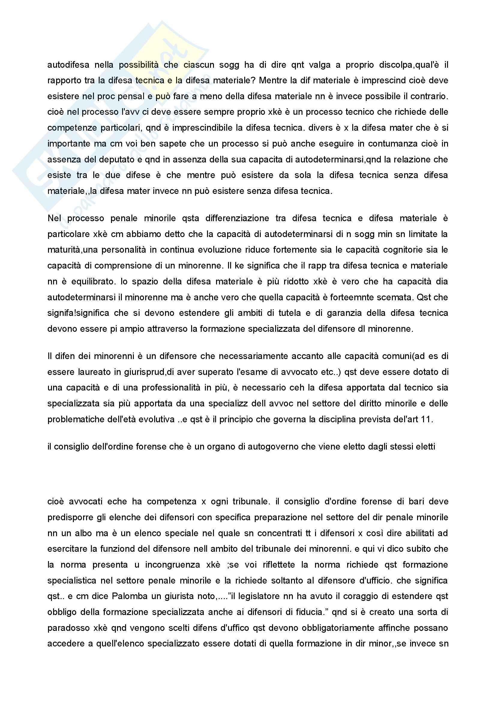 Diritto penale minorile - Corso completo Pag. 16