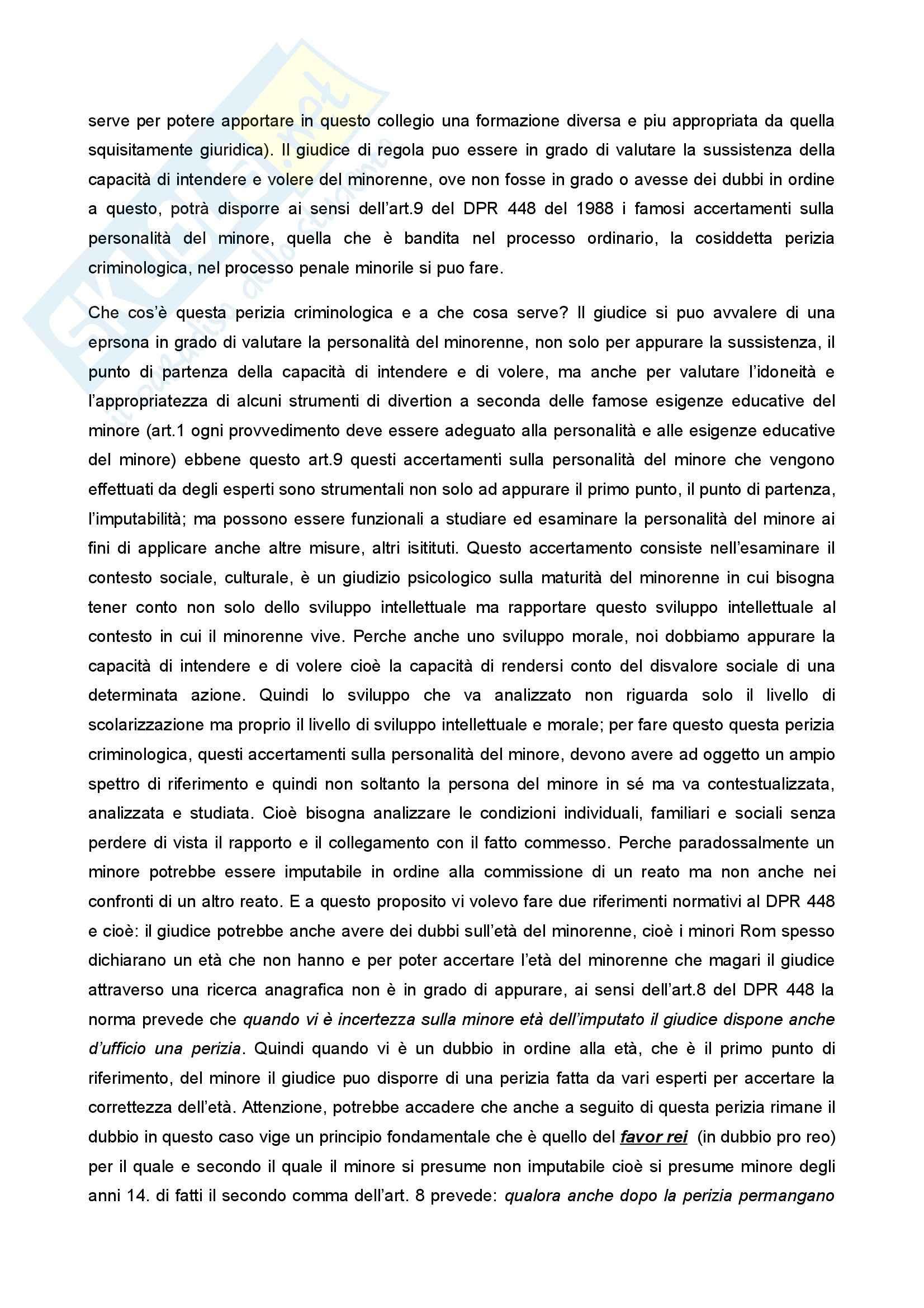 Diritto penale minorile - Corso completo Pag. 26