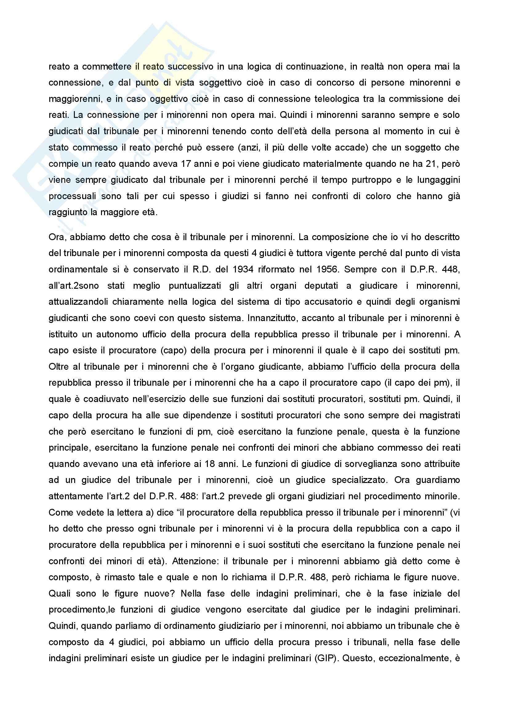 Diritto penale minorile - Corso completo Pag. 36