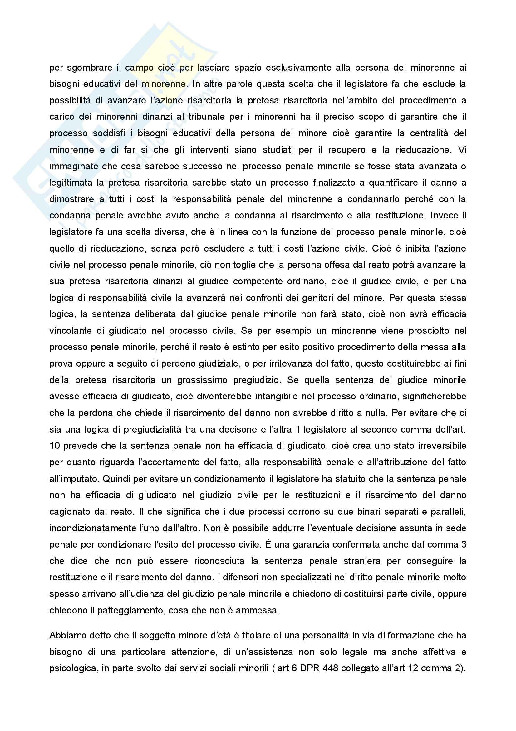 Diritto penale minorile - Corso completo Pag. 56