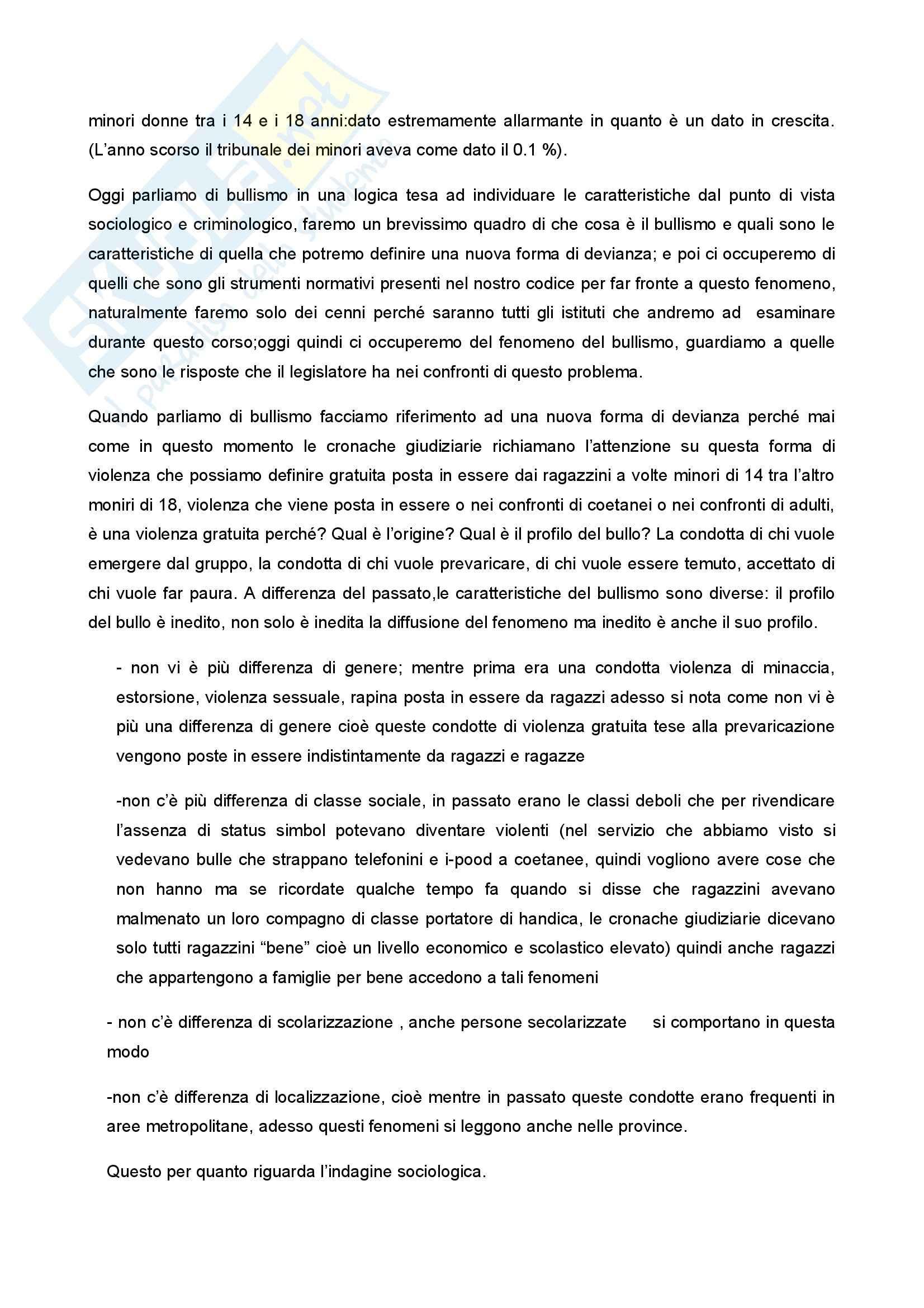 Diritto penale minorile - Corso completo Pag. 6