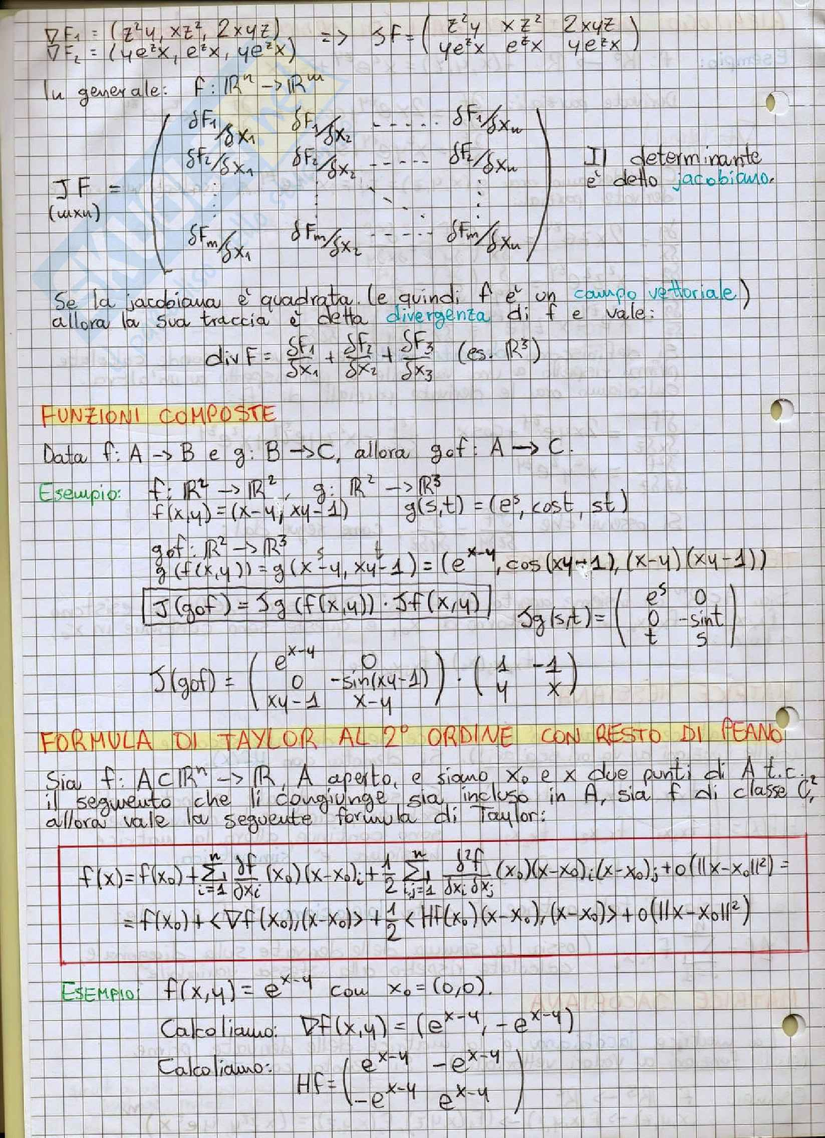Analisi Matematica II - Appunti Pag. 2