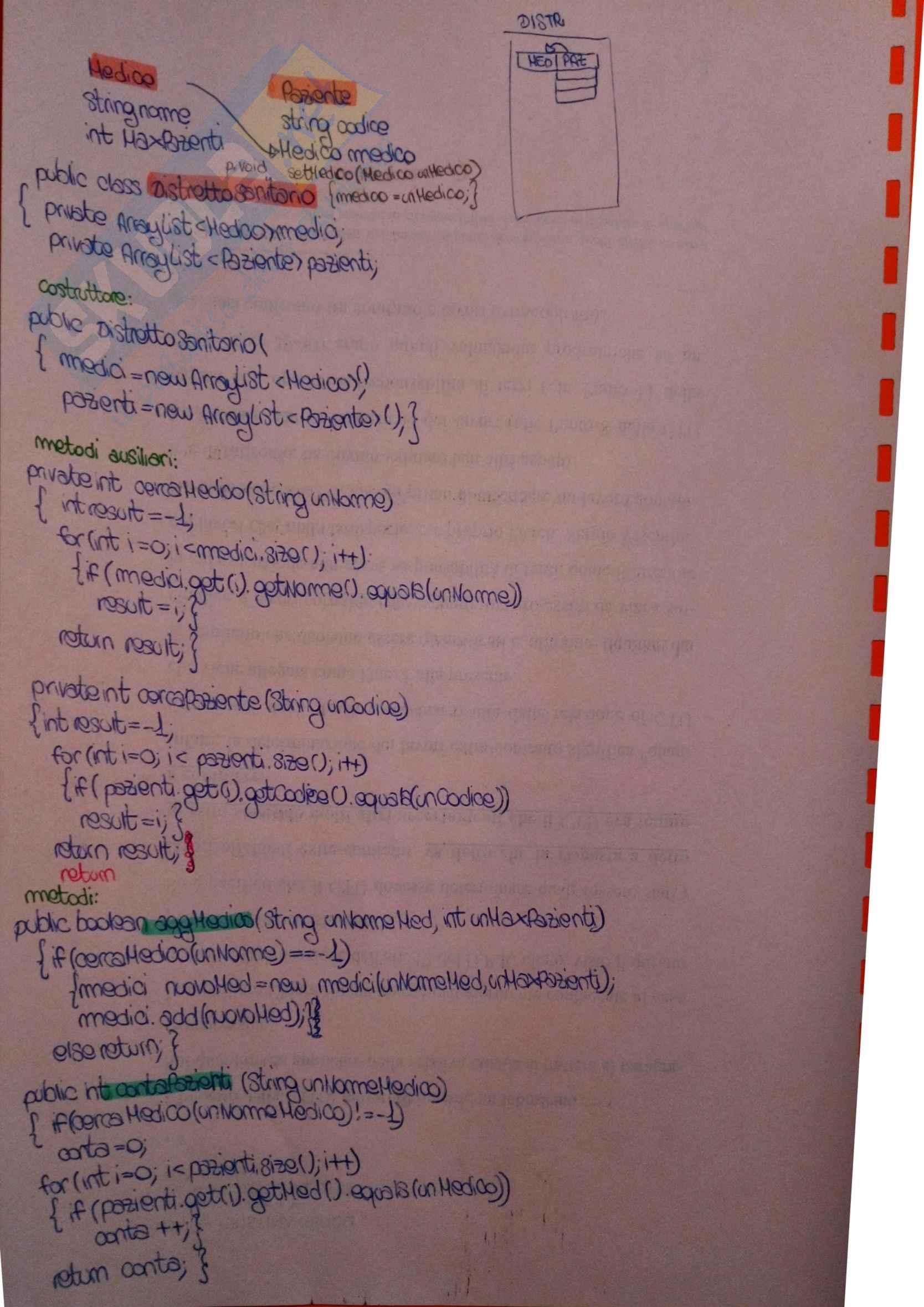 Informatica - esercizi svolti Java