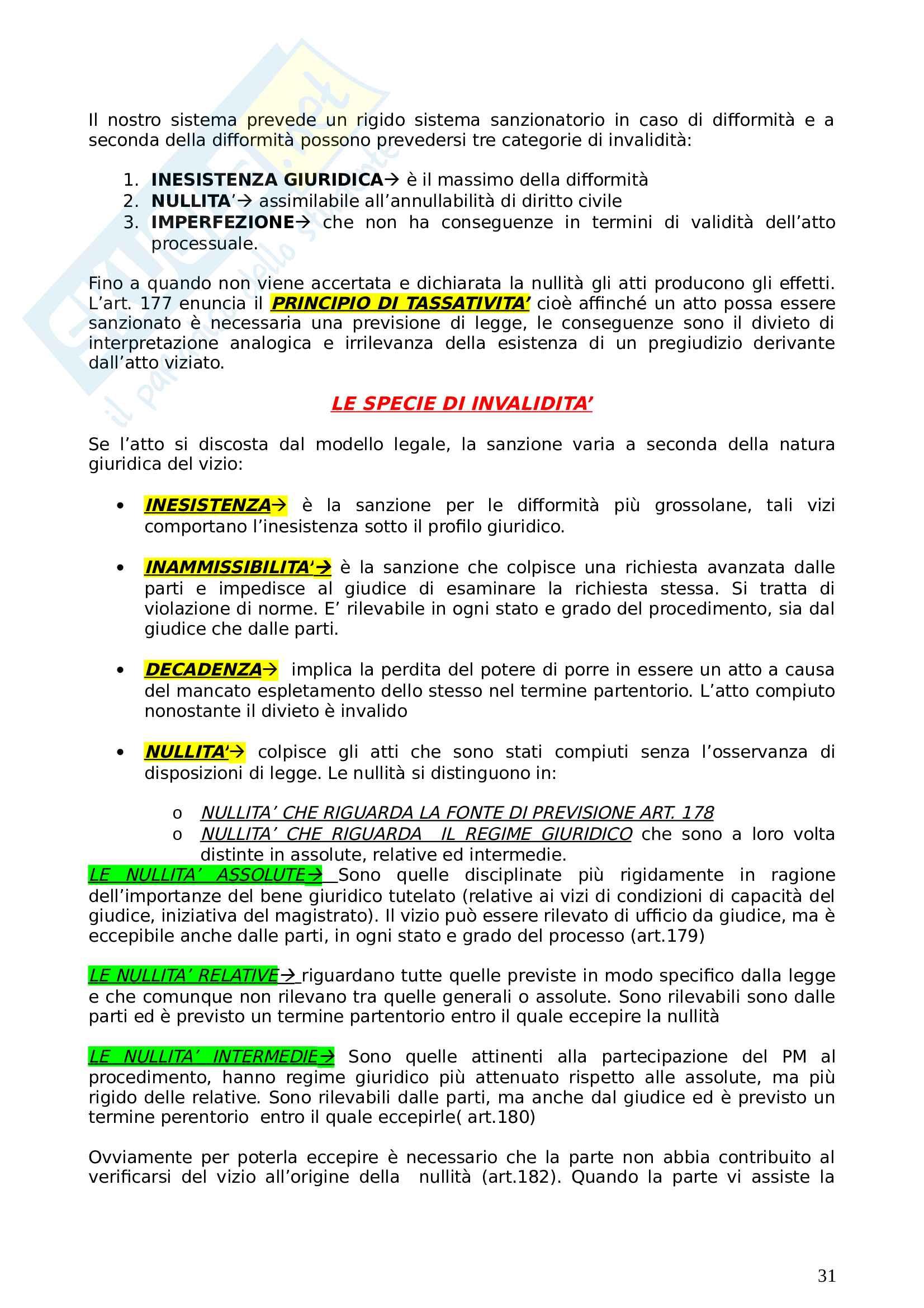 Schemi diritto processuale penale basati sul testo di Garofoli Pag. 31