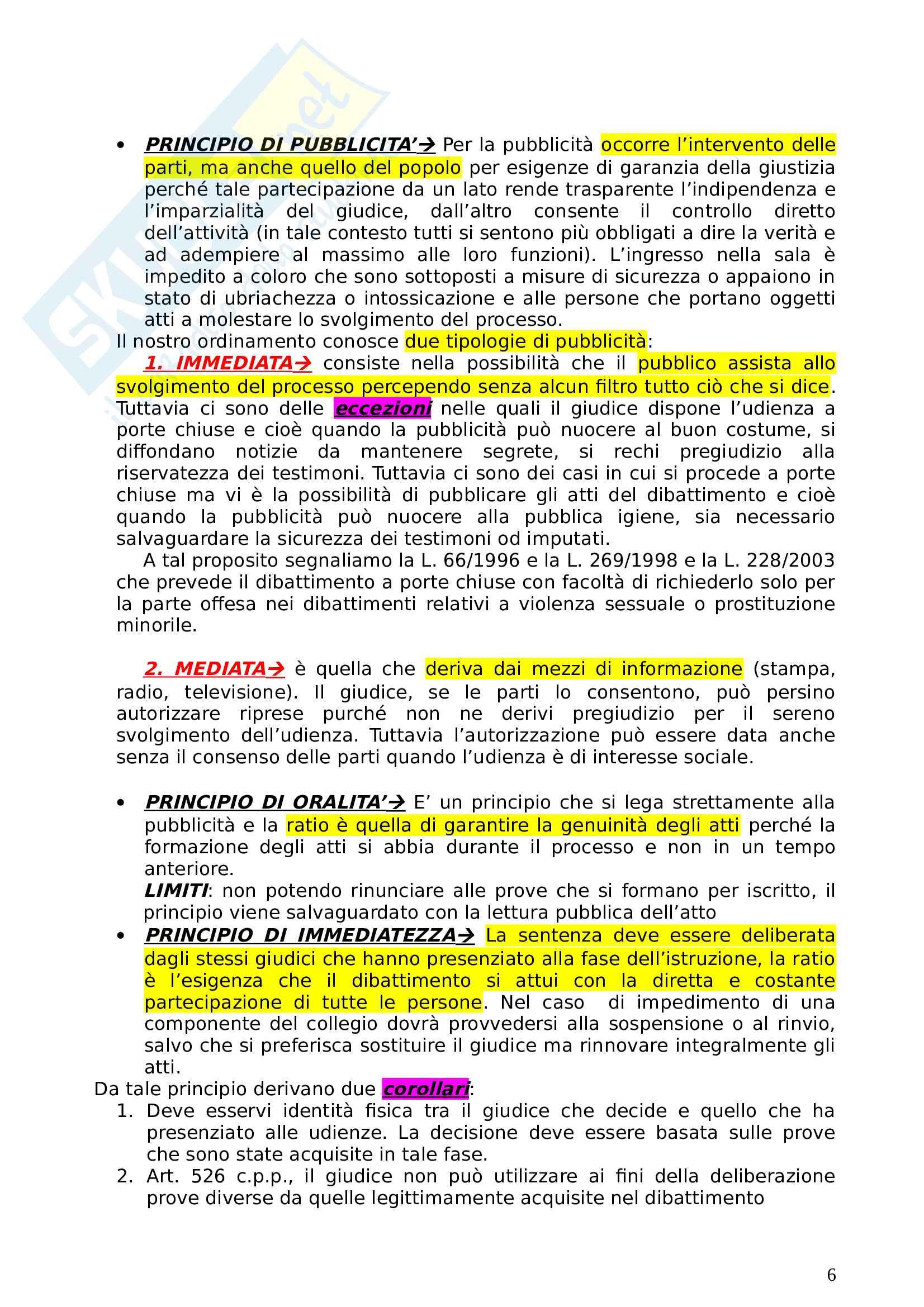 Schemi diritto processuale penale basati sul testo di Garofoli Pag. 6