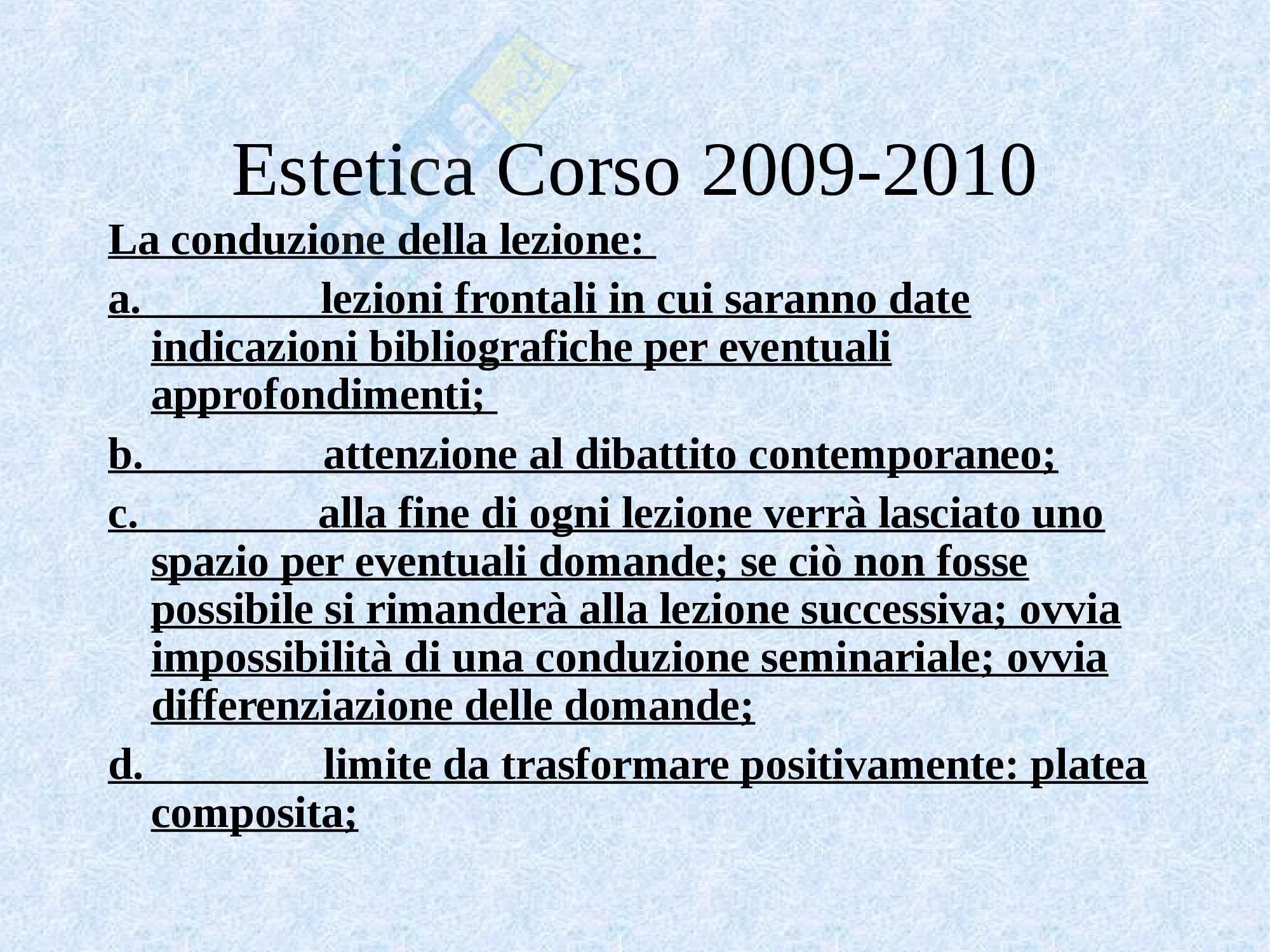 Estetica - lo studio dell'estetica Pag. 11