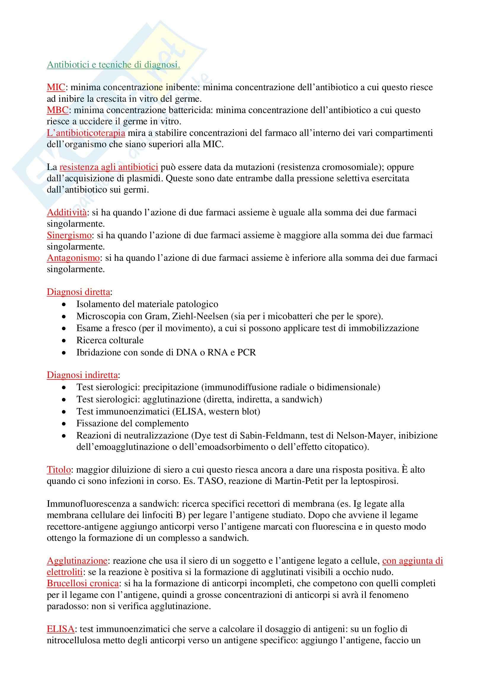 Microbiologia generale e lab. - nozioni generali