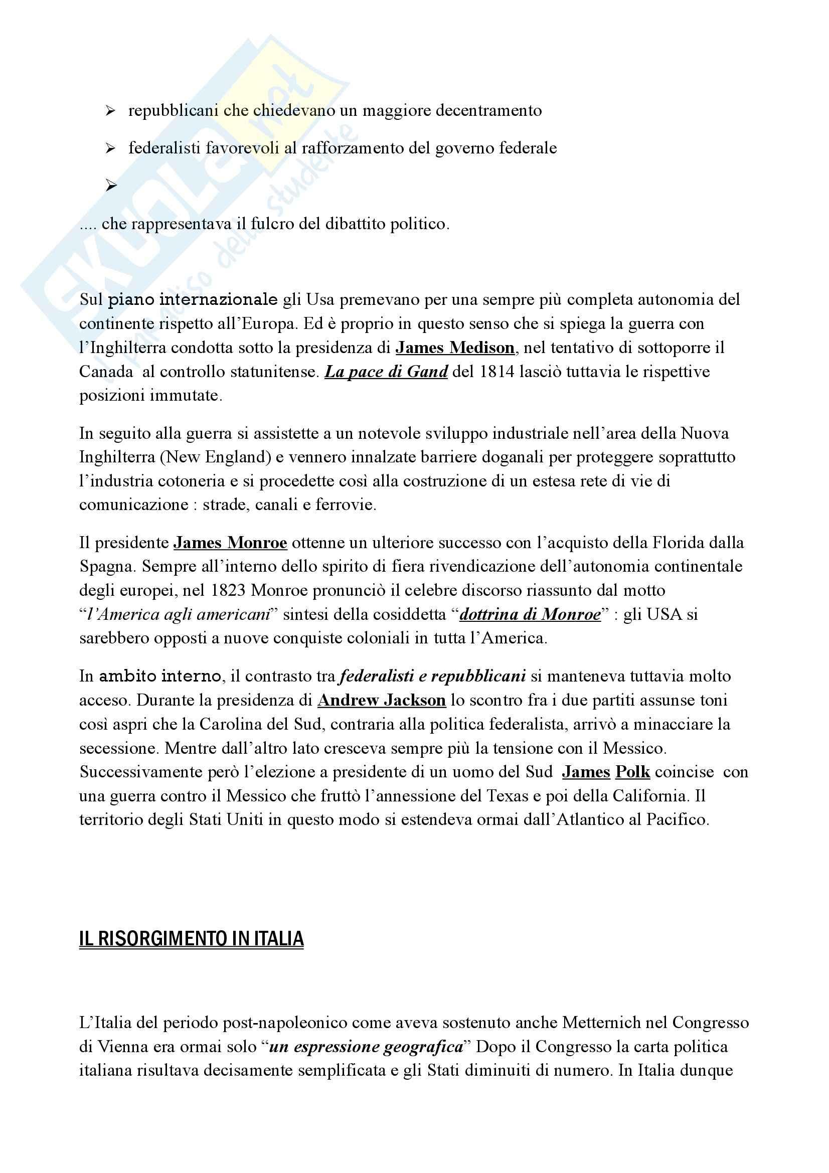 Riassunto esame Storia, prof. Marmo, libro consigliato Storia contemporanea, Lepre, Petraccone Pag. 16