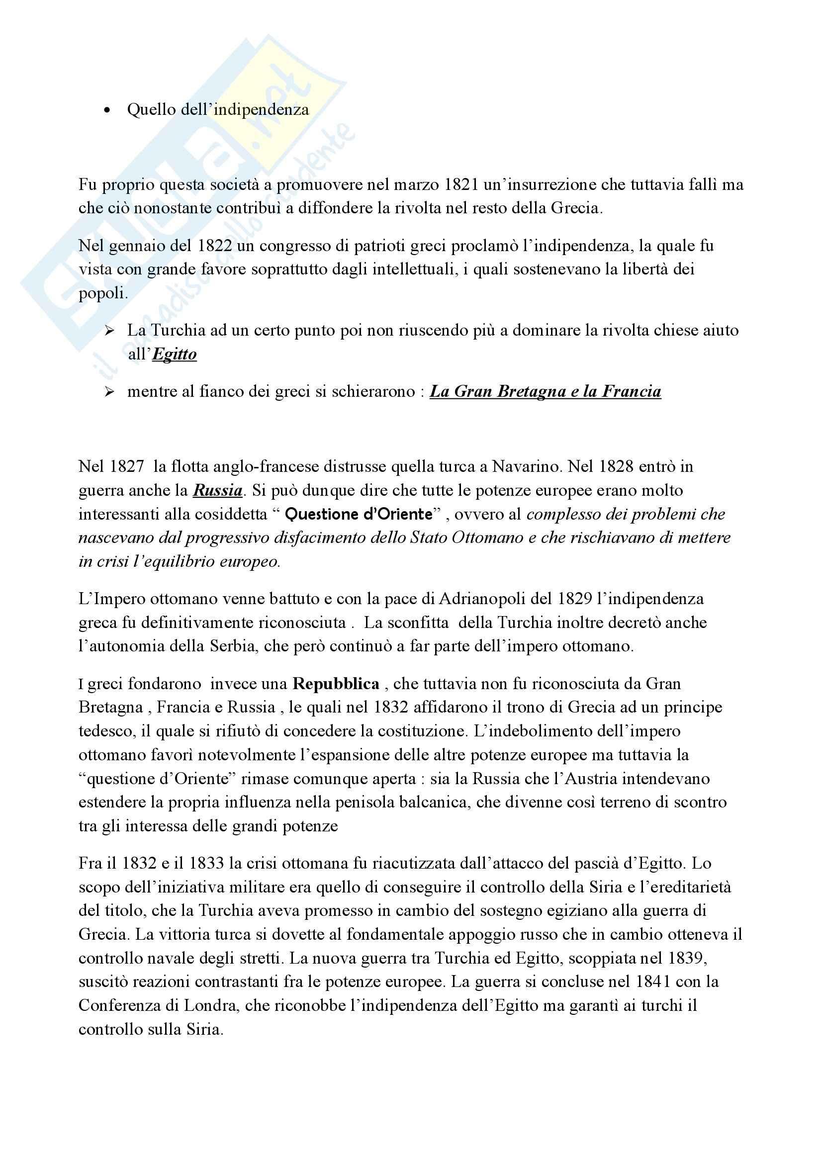 Riassunto esame Storia, prof. Marmo, libro consigliato Storia contemporanea, Lepre, Petraccone Pag. 6
