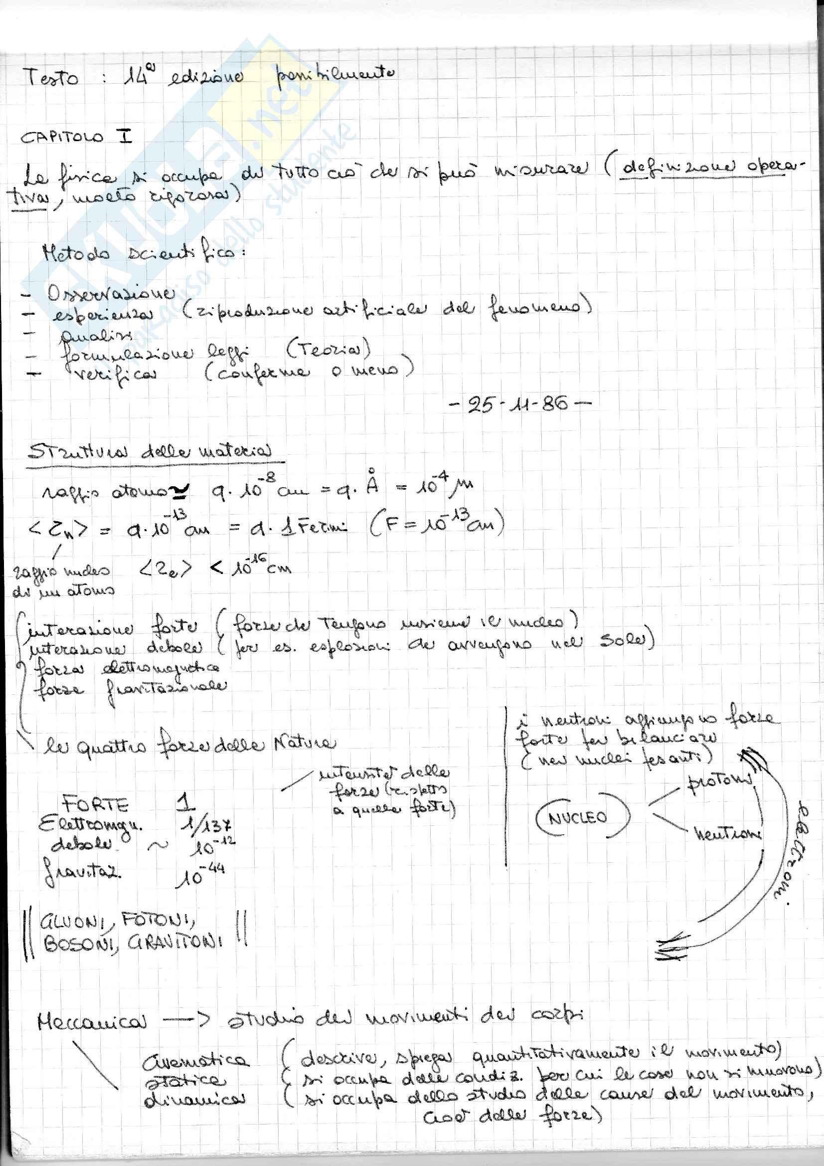 Fisica generale I con esercizi