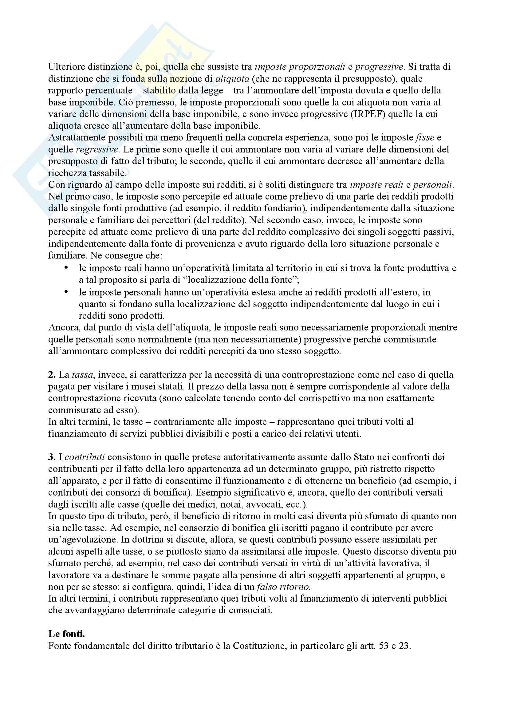 """""""Appunti"""" di Diritto Tributario - Simone Ventriglia Pag. 2"""