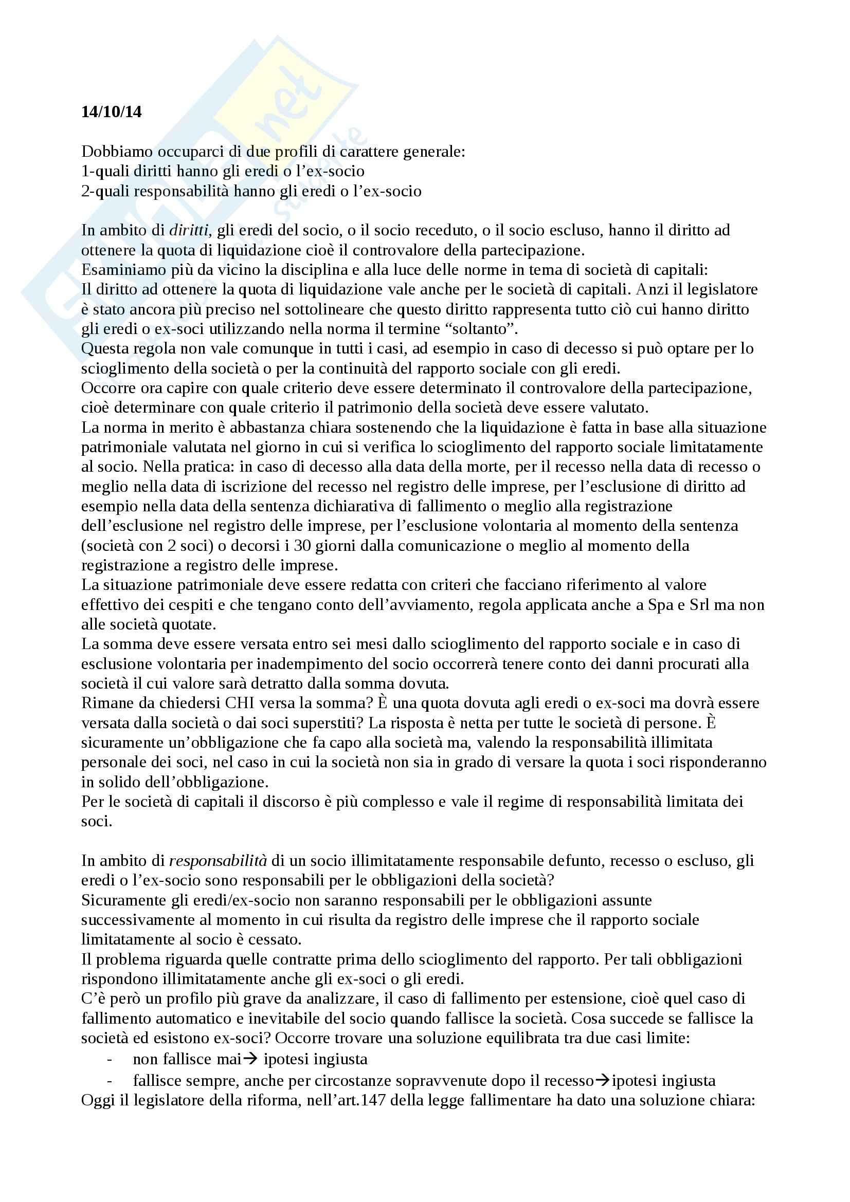 Lezioni, Diritto commerciale II Pag. 26