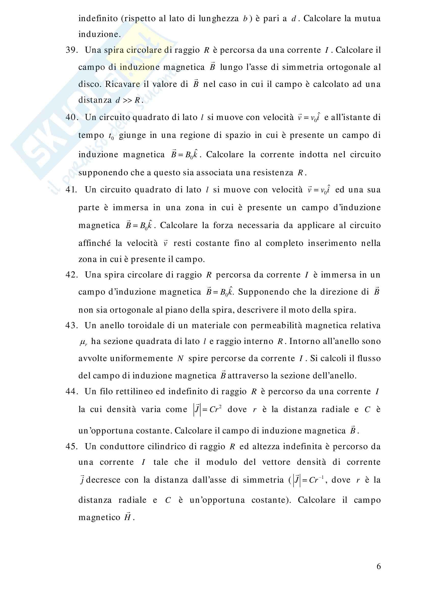 Esami svolti, Fisica 2 Pag. 6