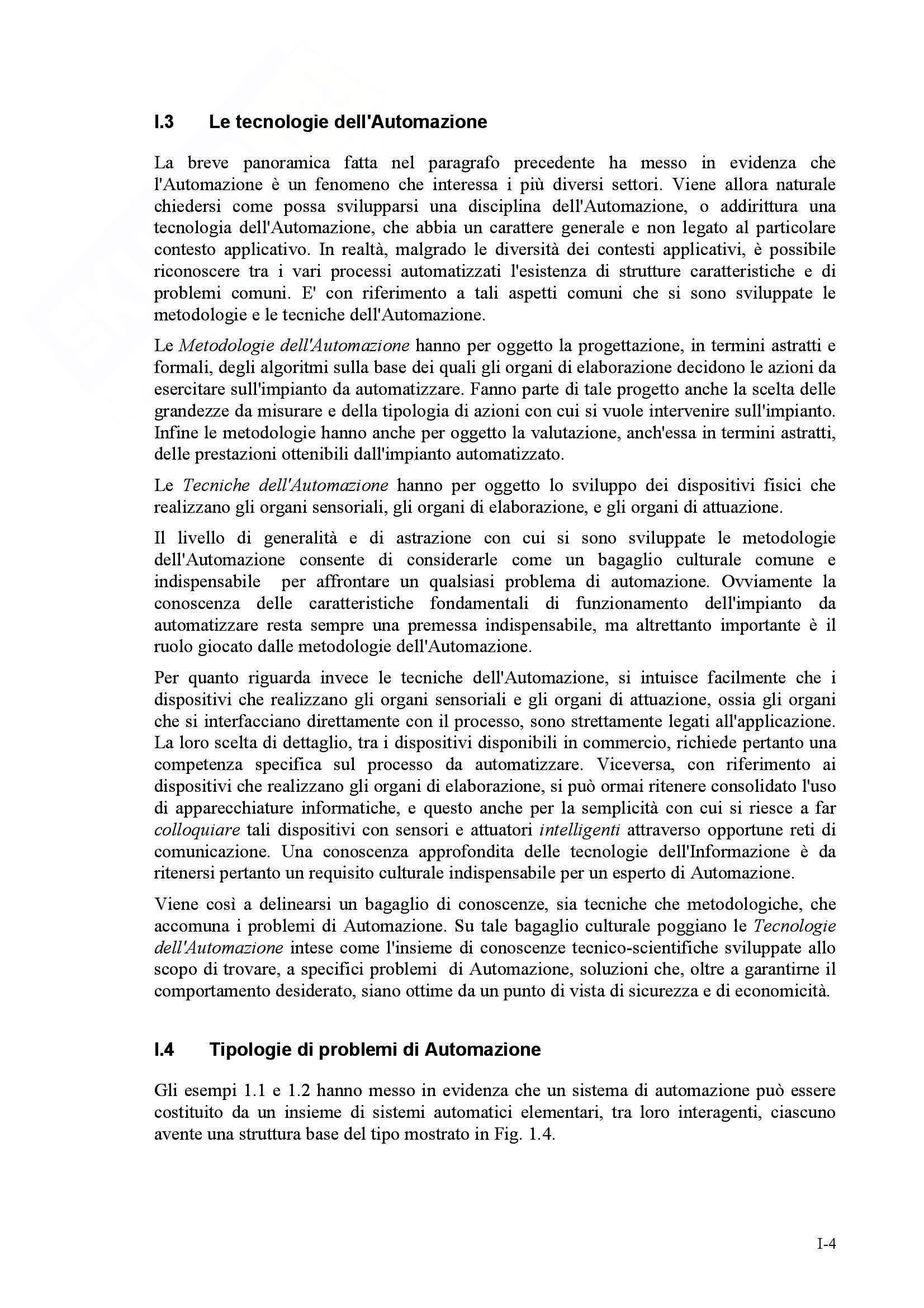 Elementi di Automazione Pag. 6