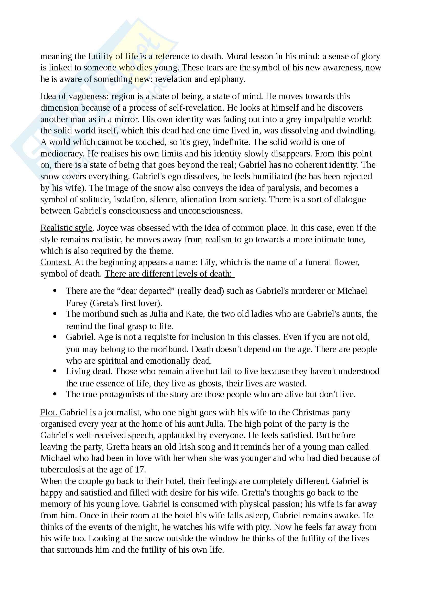 Riassunto esame Cultura e Letteratura Inglese II, prof. Polopoli, libro consigliato Storia della Letteratura Inglese, Bertinetti Pag. 16