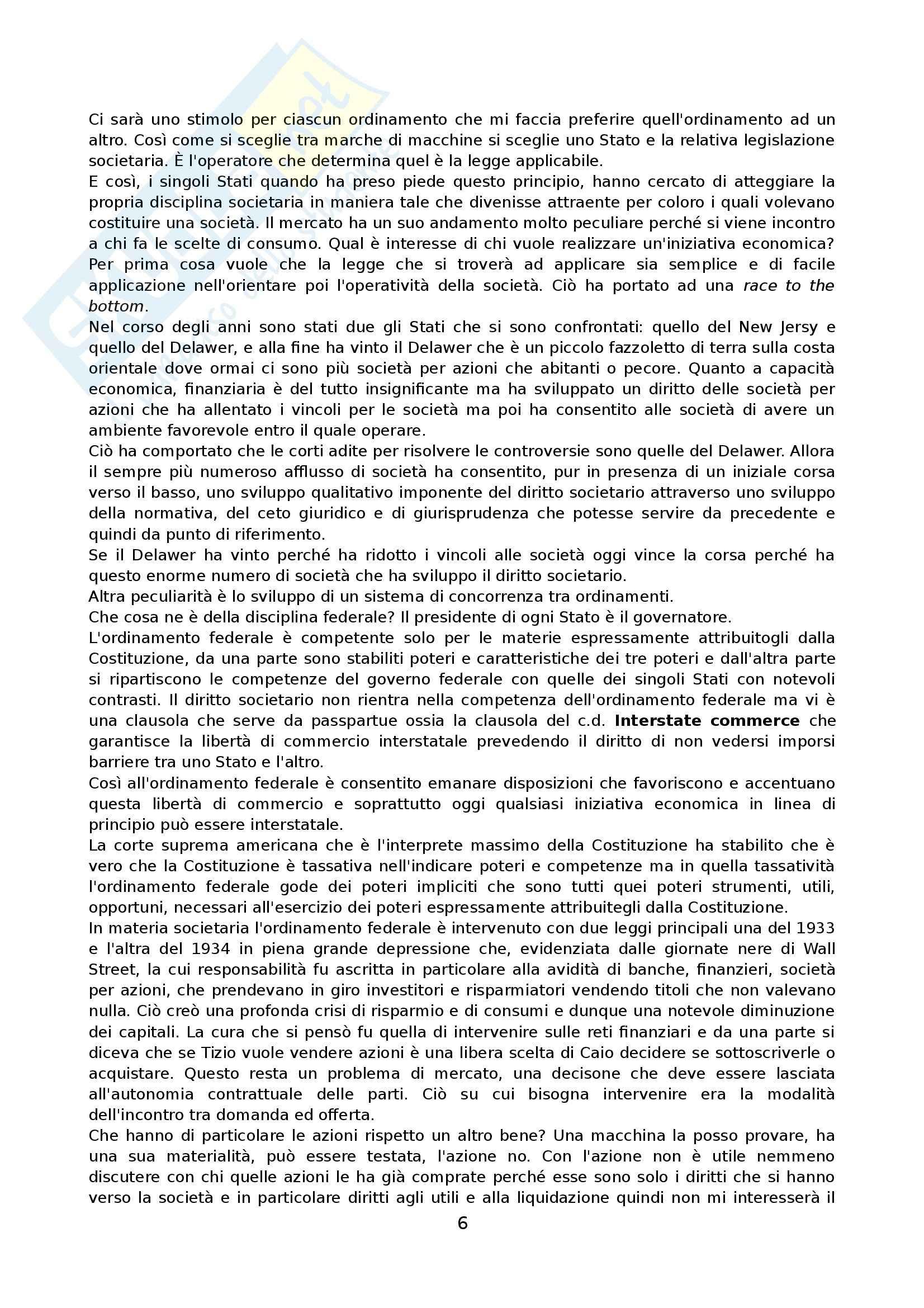 Diritto privato comparato commerciale - Appunti Pag. 6