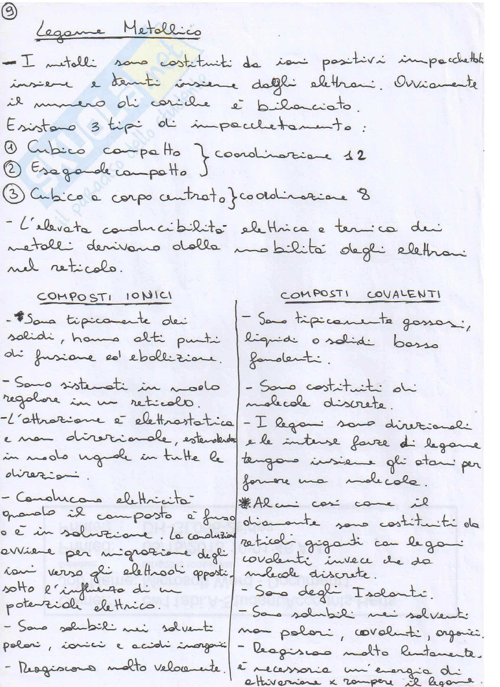 Chimica generale e inorganica - legami Pag. 2