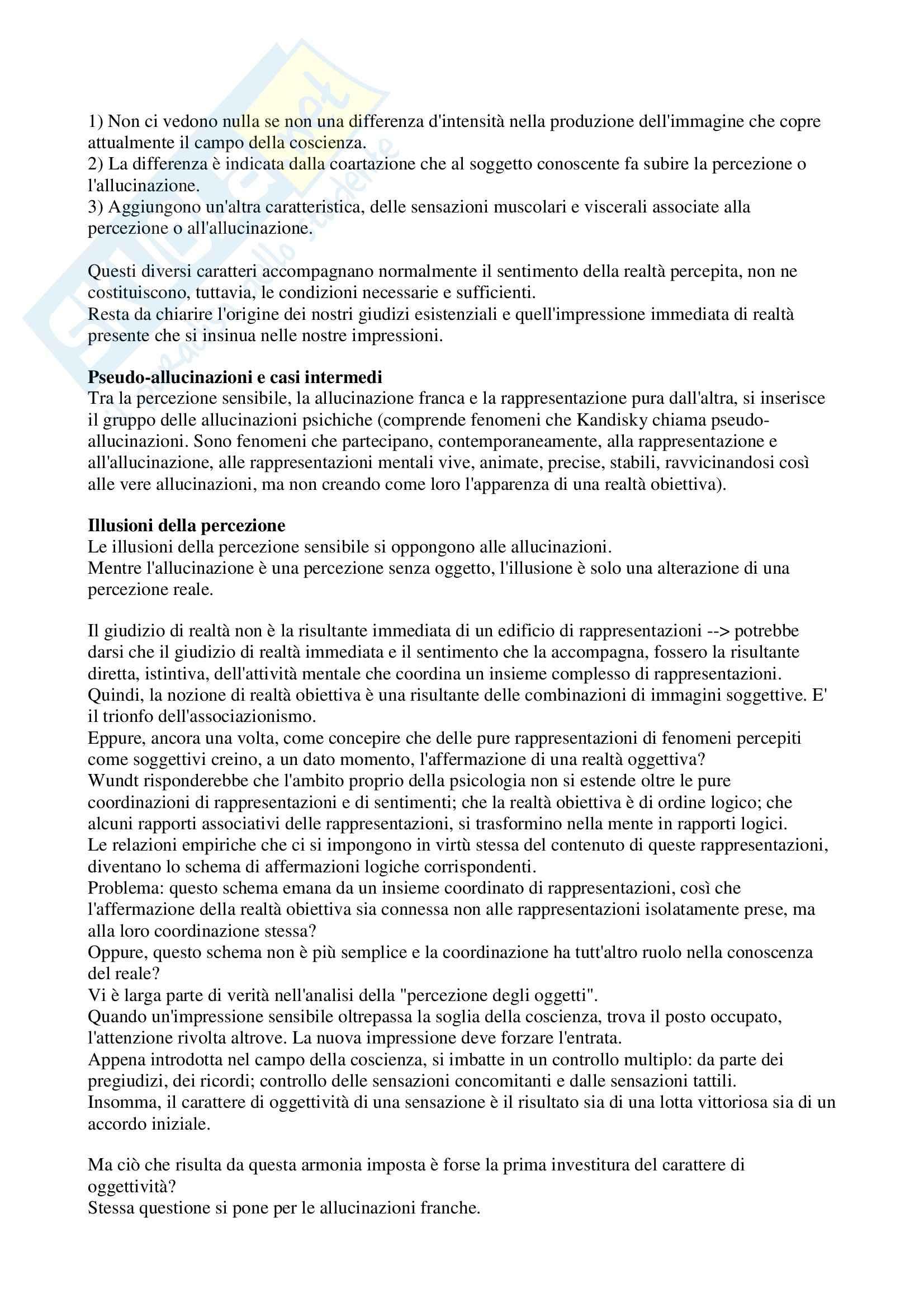 Riassunto esame Elementi di Antropologia, prof. Bosco, libro consigliato Psicologia e mistica, Marèchal Pag. 2