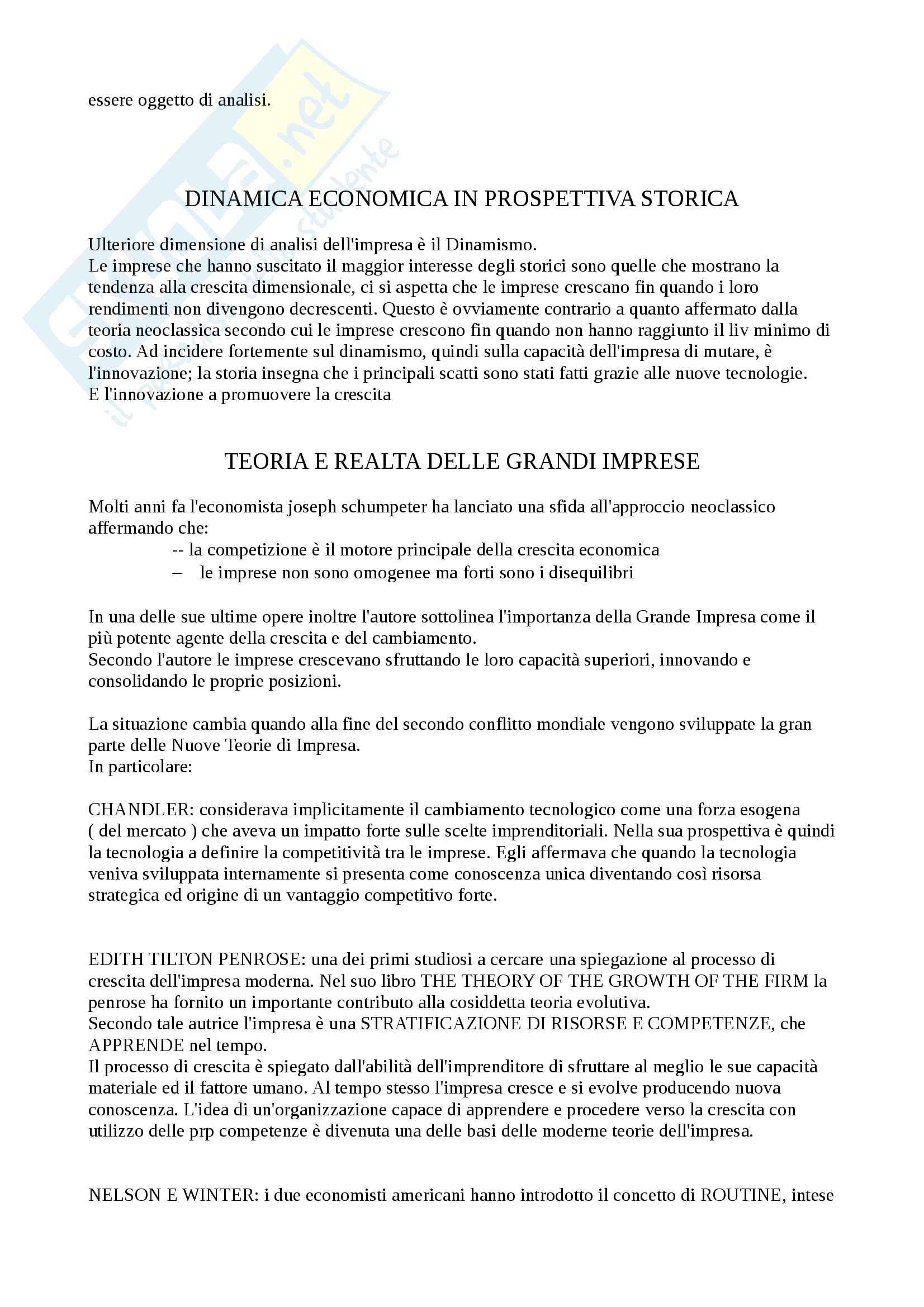 Storia dell'impresa (Appunti) Pag. 2