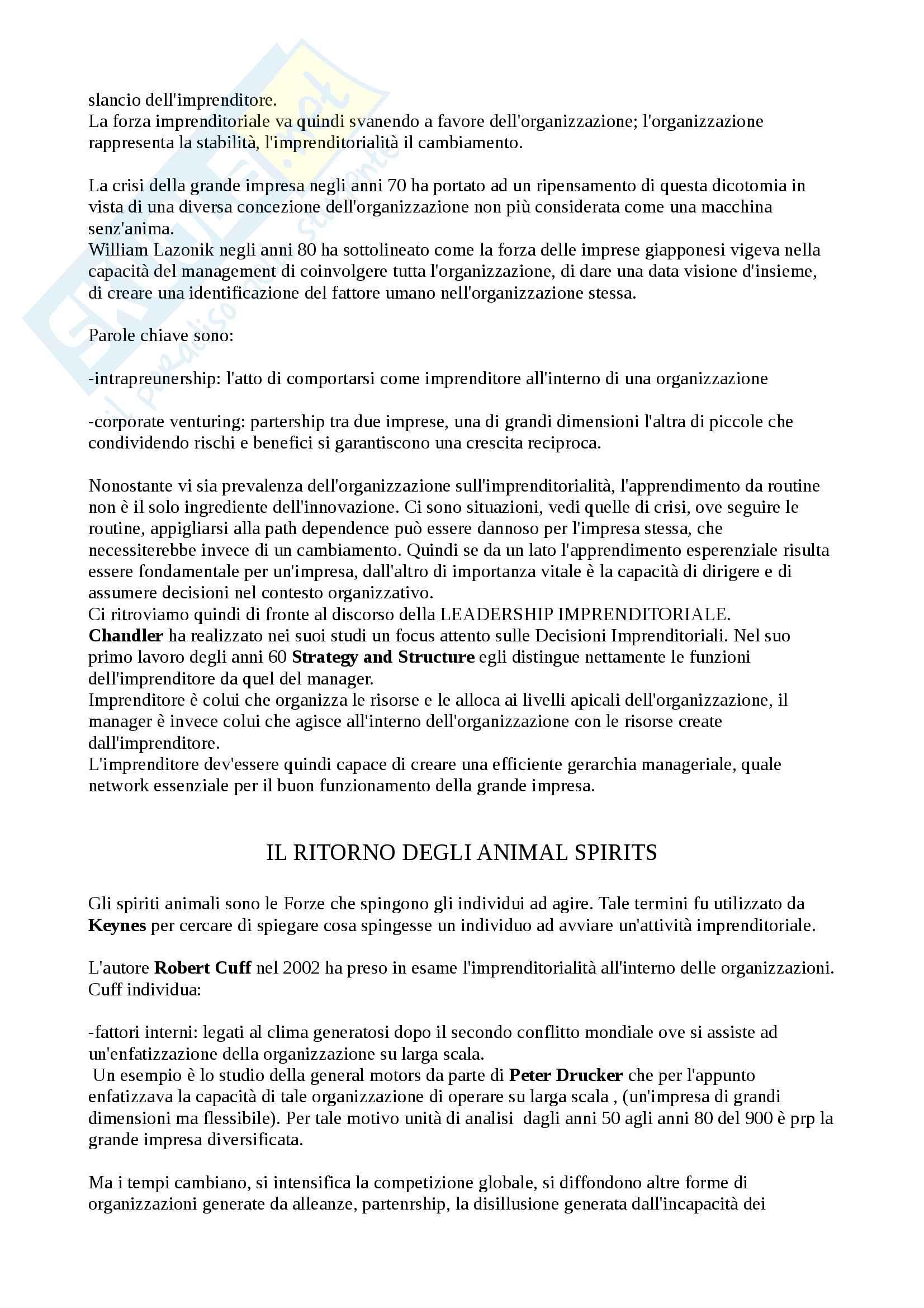 Storia dell'impresa (Appunti) Pag. 6