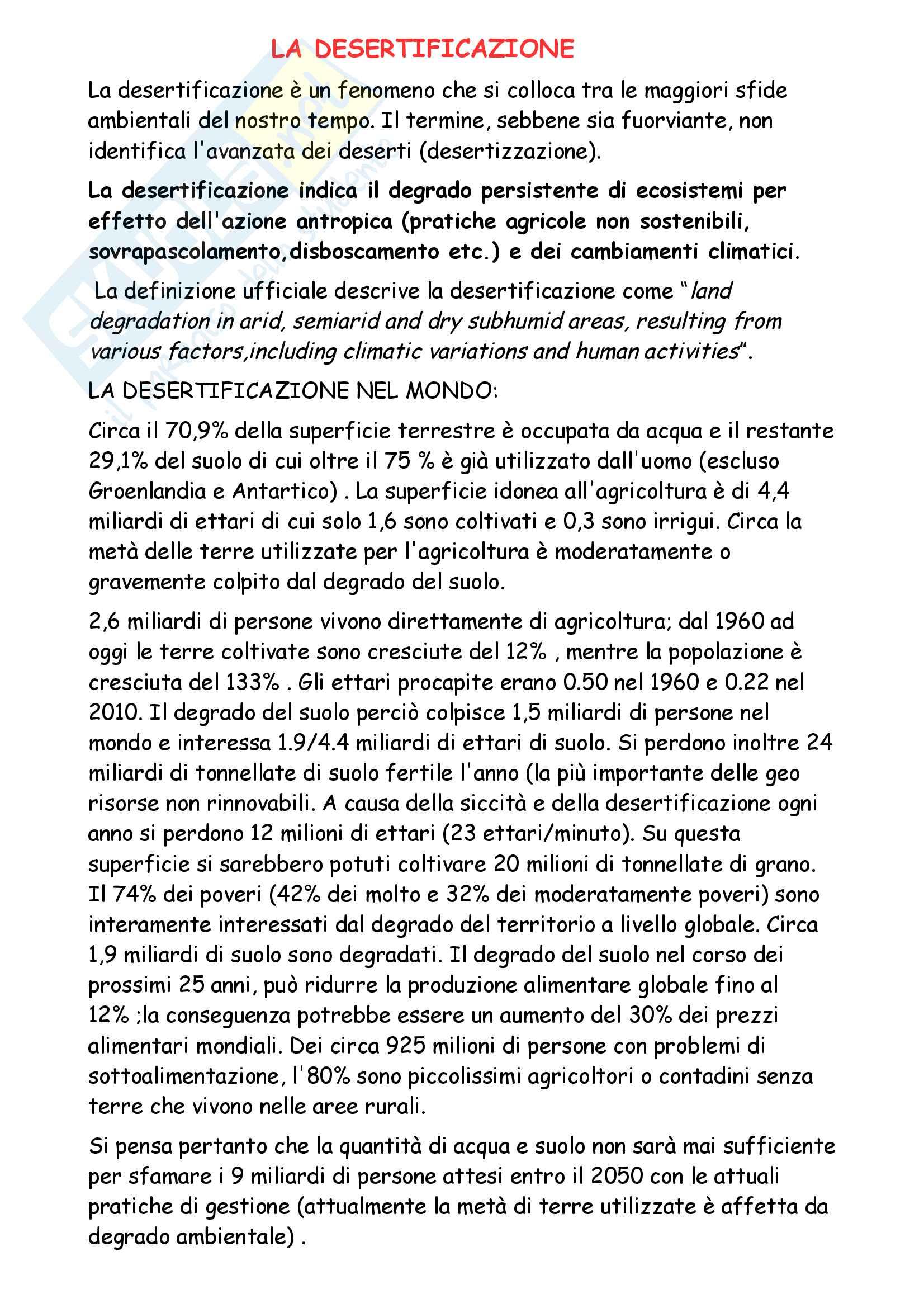Economia delle risorse naturali, Prof. Quaranta Pag. 56