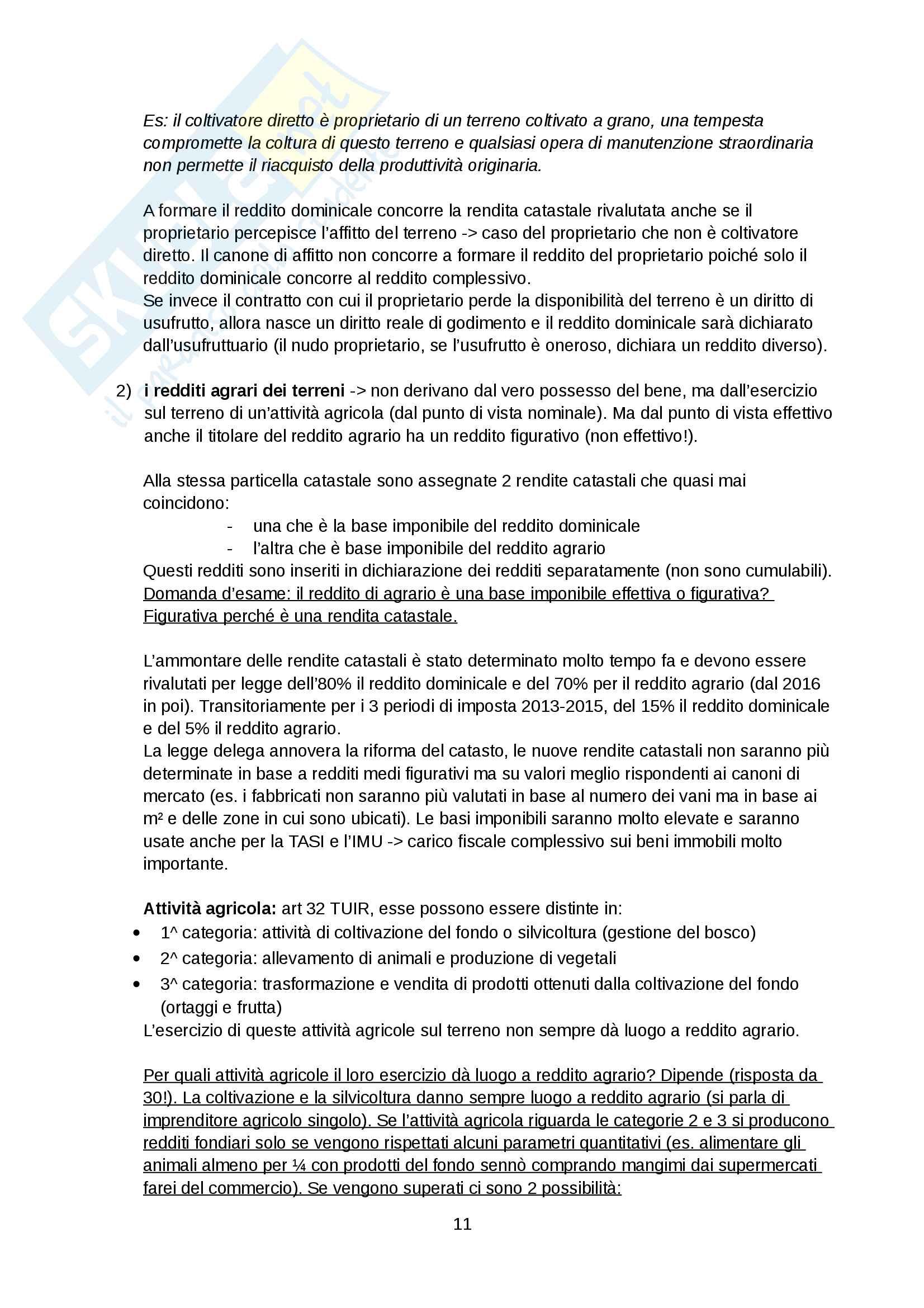 Appunti diritto tributario Pag. 11
