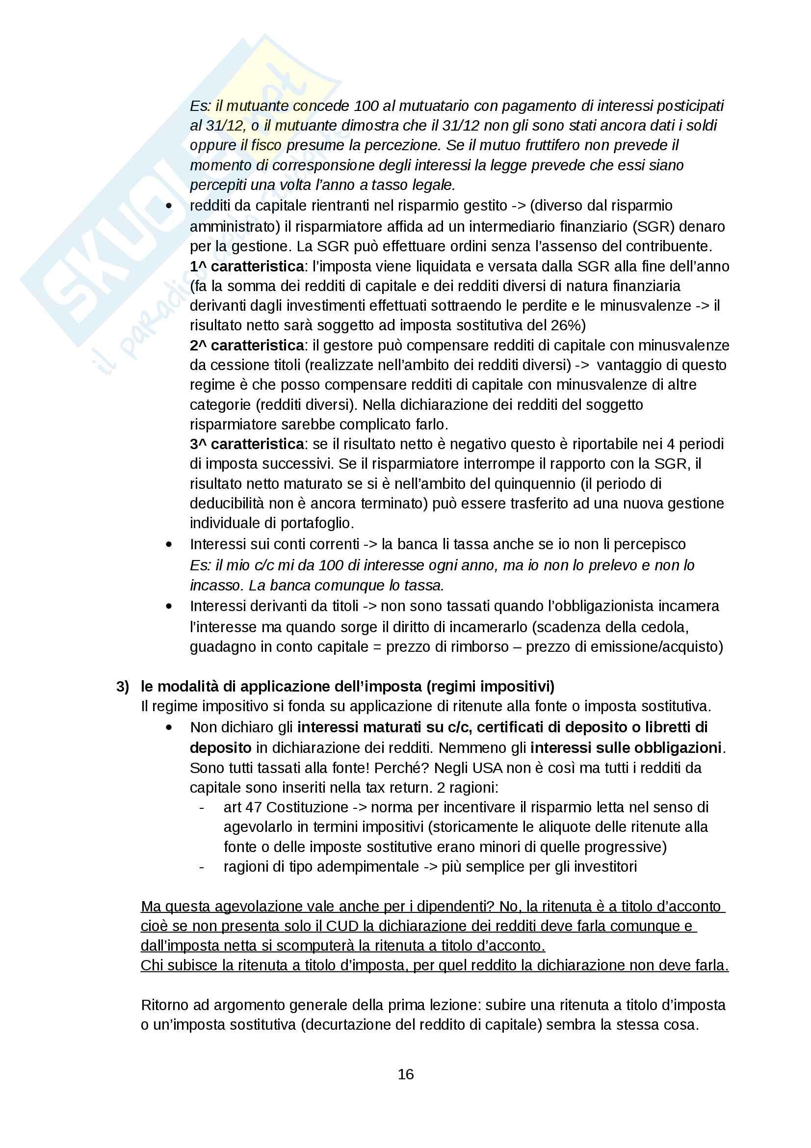 Appunti diritto tributario Pag. 16