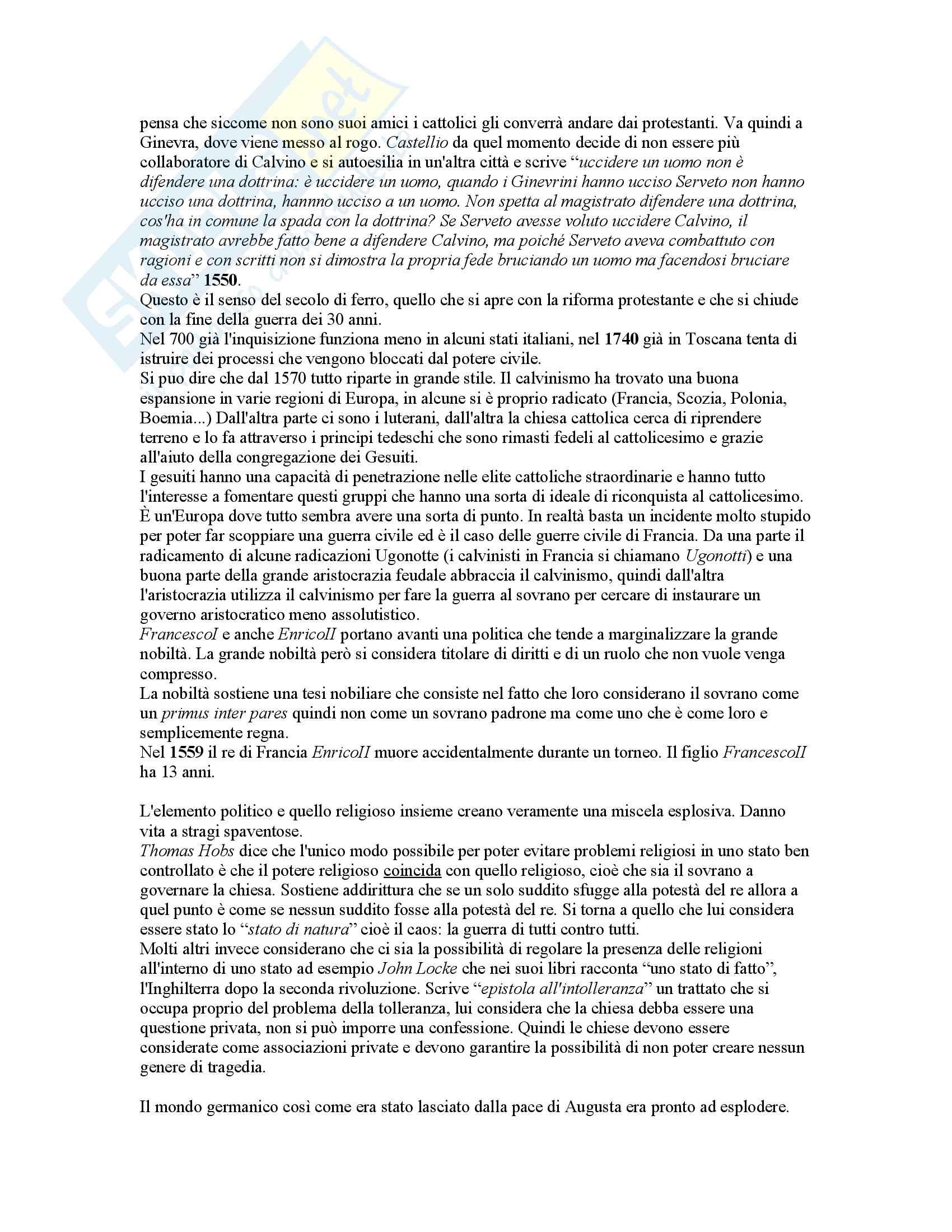 Appunti storia moderna 1 Pag. 41