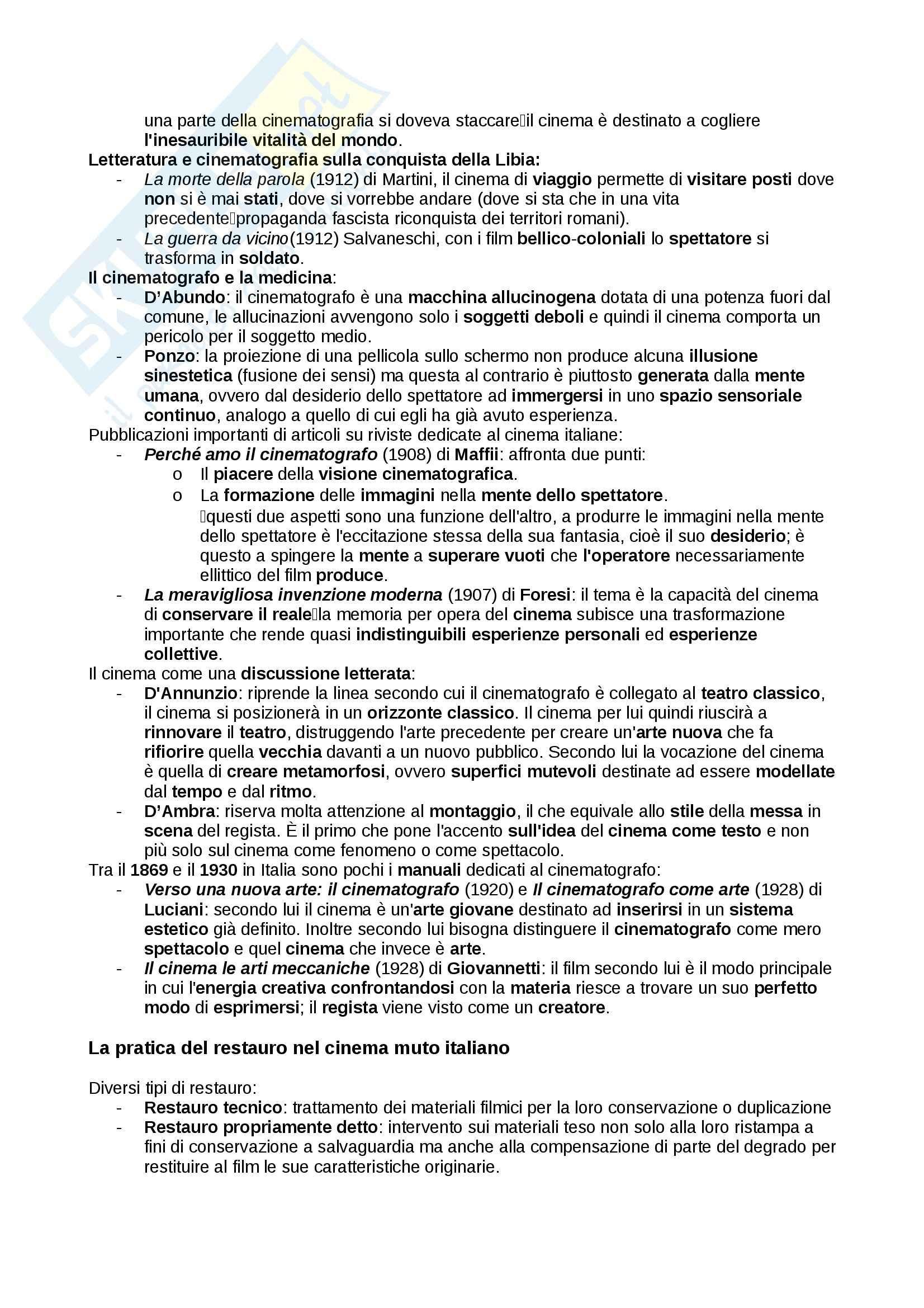 Cinema muto italiano, Filmologia Pag. 11