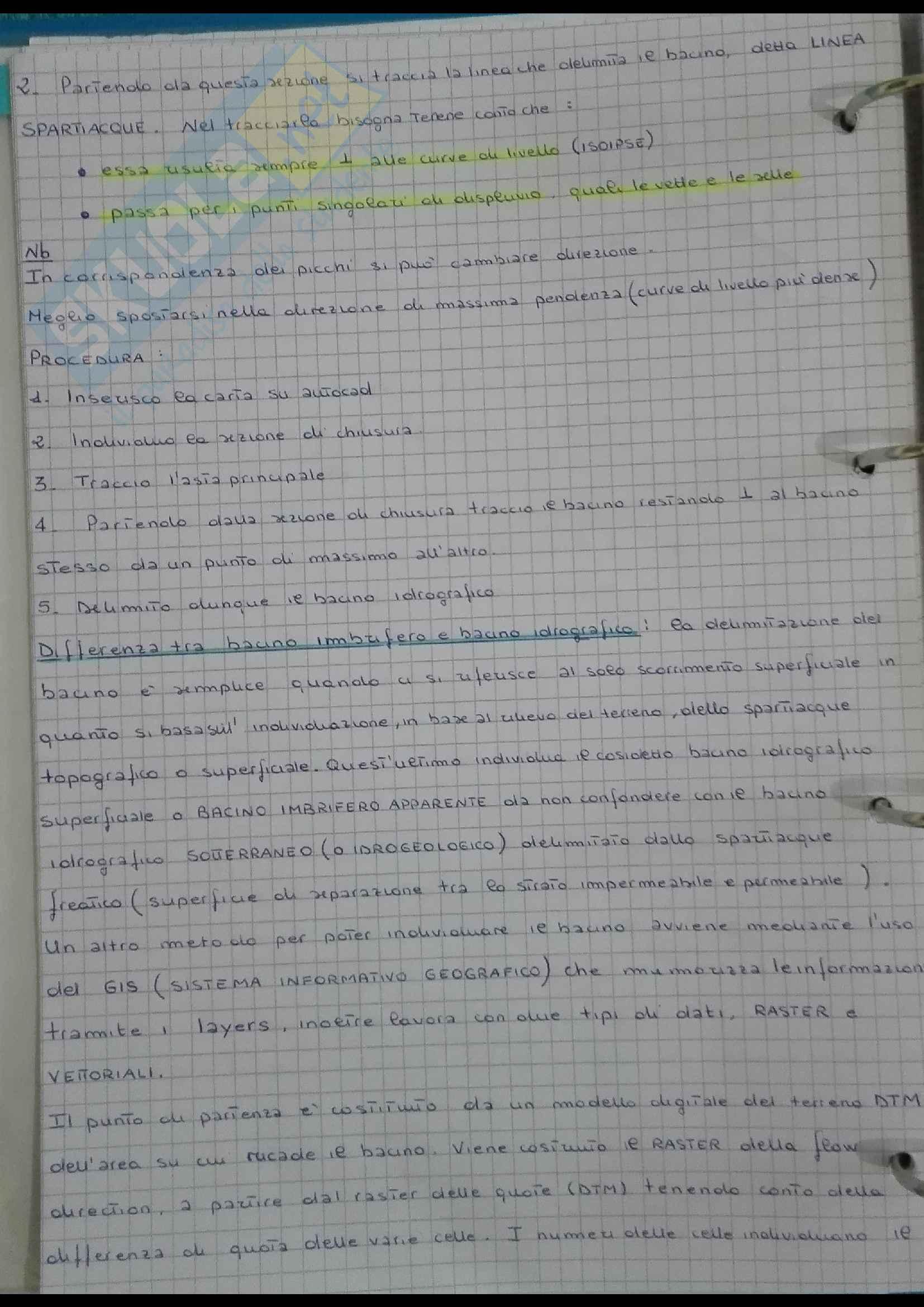 Appunti del corso di Costruzioni Idrauliche Pag. 26