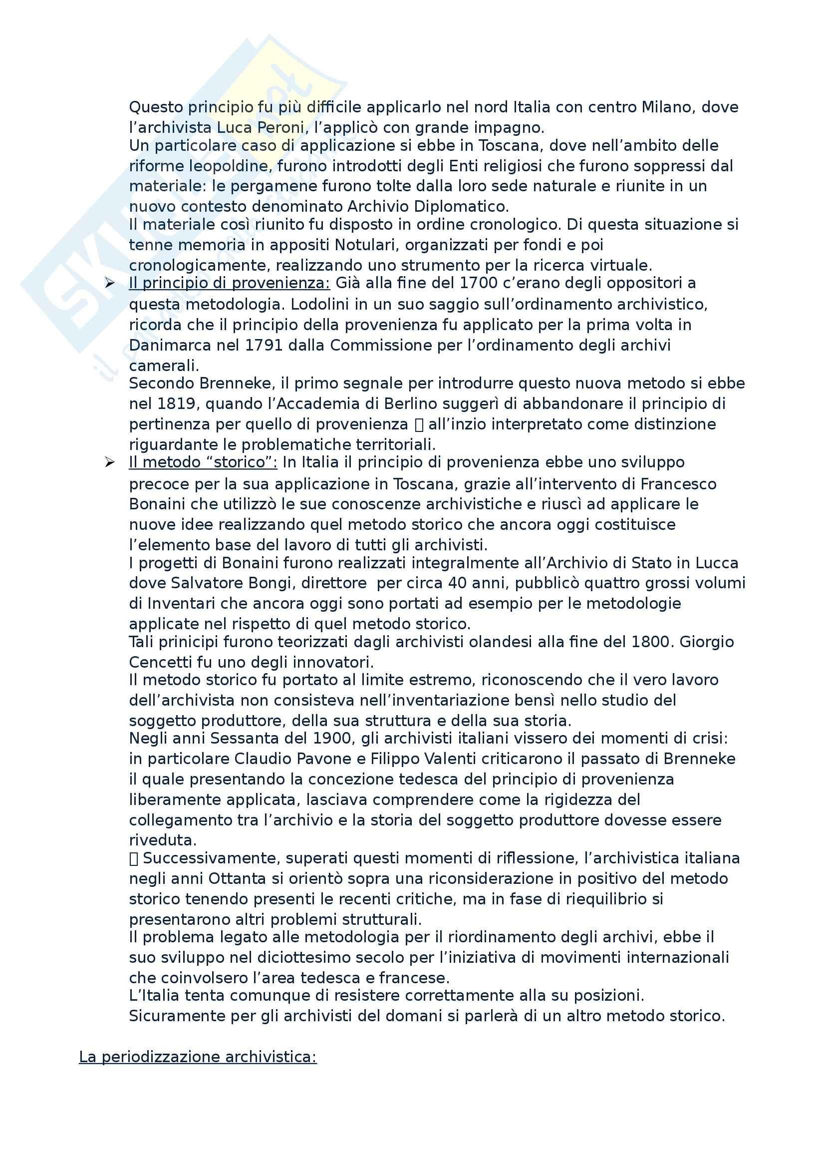 Archivistica - archivio storico Pag. 2