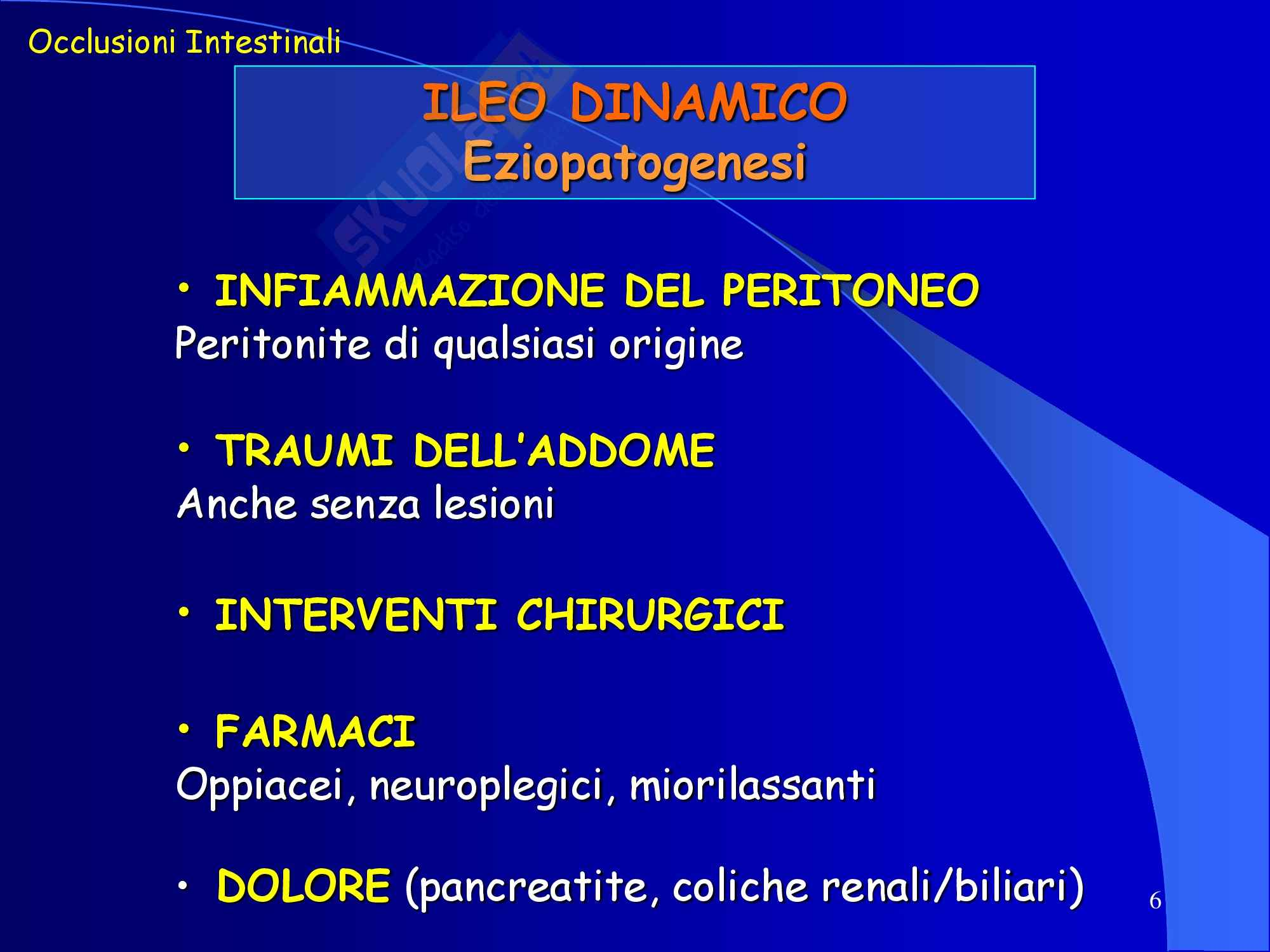 Occlusione Intestinale - parte 2 Pag. 6